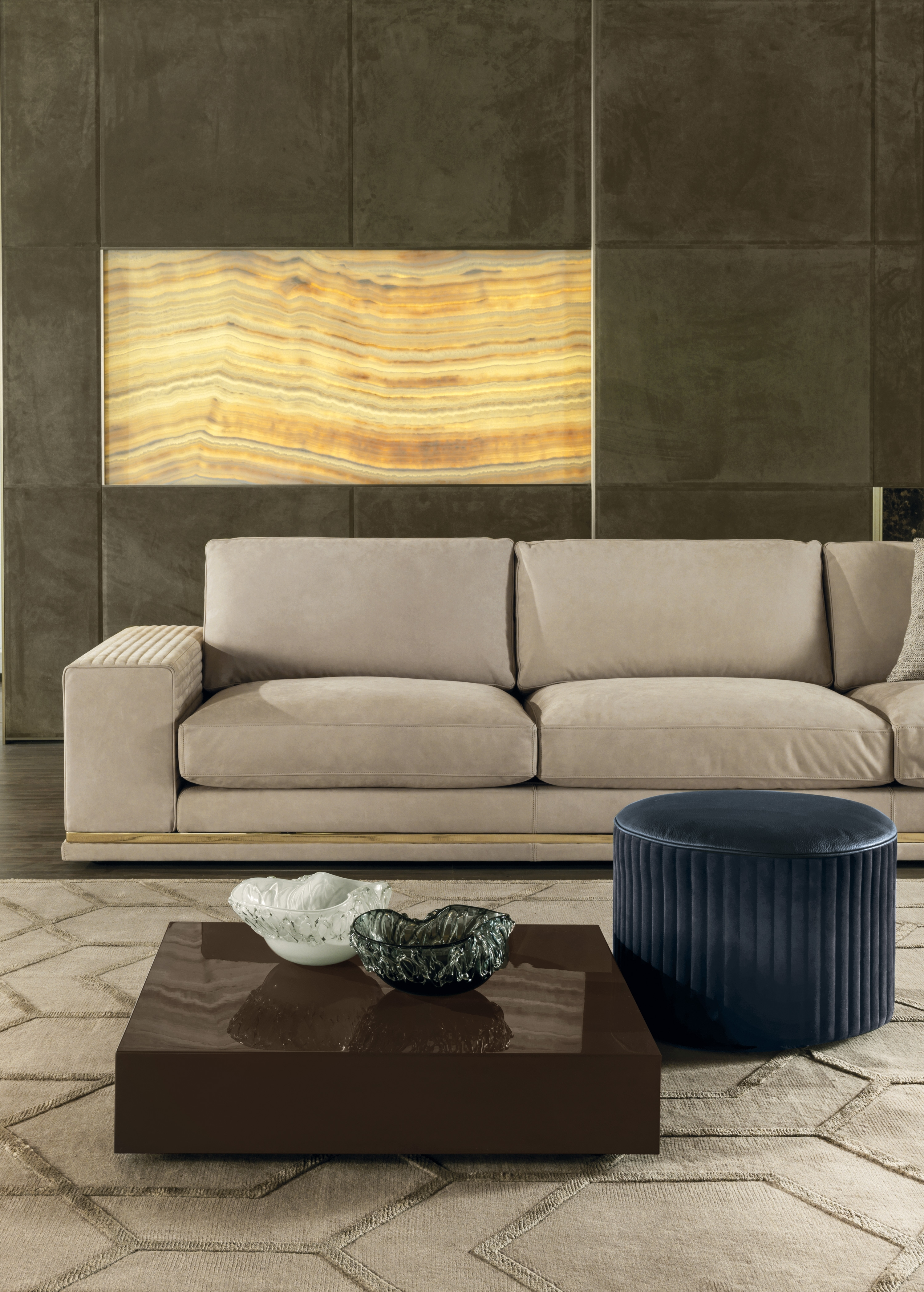 Cohen High-End Italian Sofa - Italian Designer & Luxury Furniture At inside Cohen Down 2 Piece Sectionals (Image 4 of 30)