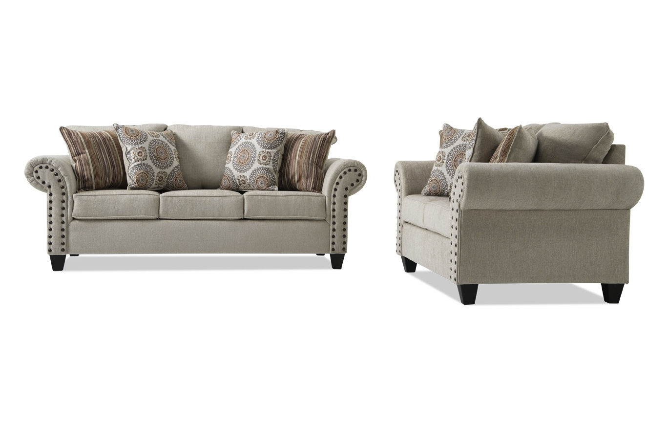 Collections | Living Room Collections | Bob's Discount Furniture in Harper Down 3 Piece Sectionals (Image 5 of 30)