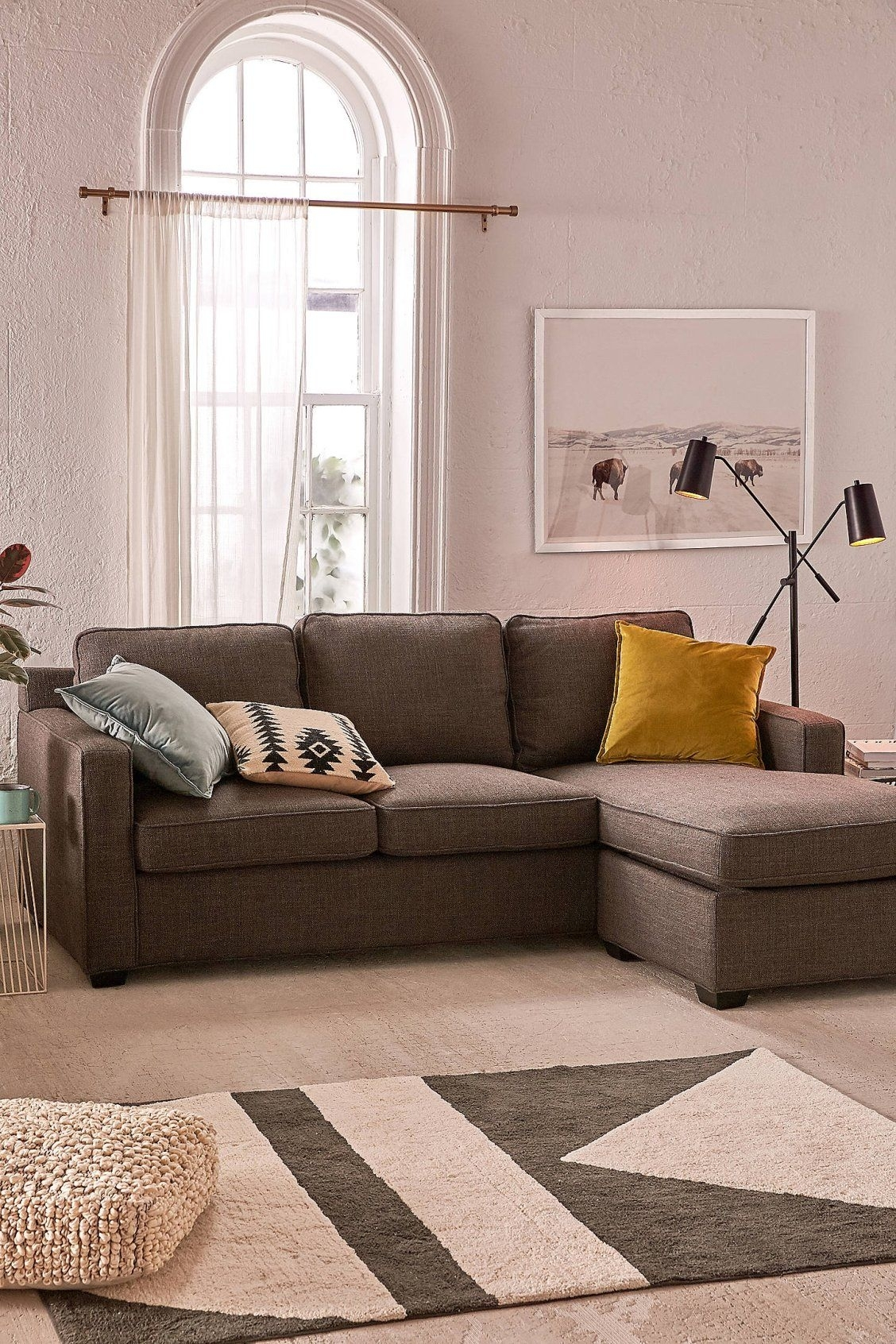 Collin Reversible Sectional Storage Sofa | #uohome | Pinterest Within Collins Sofa Sectionals With Reversible Chaise (View 6 of 30)