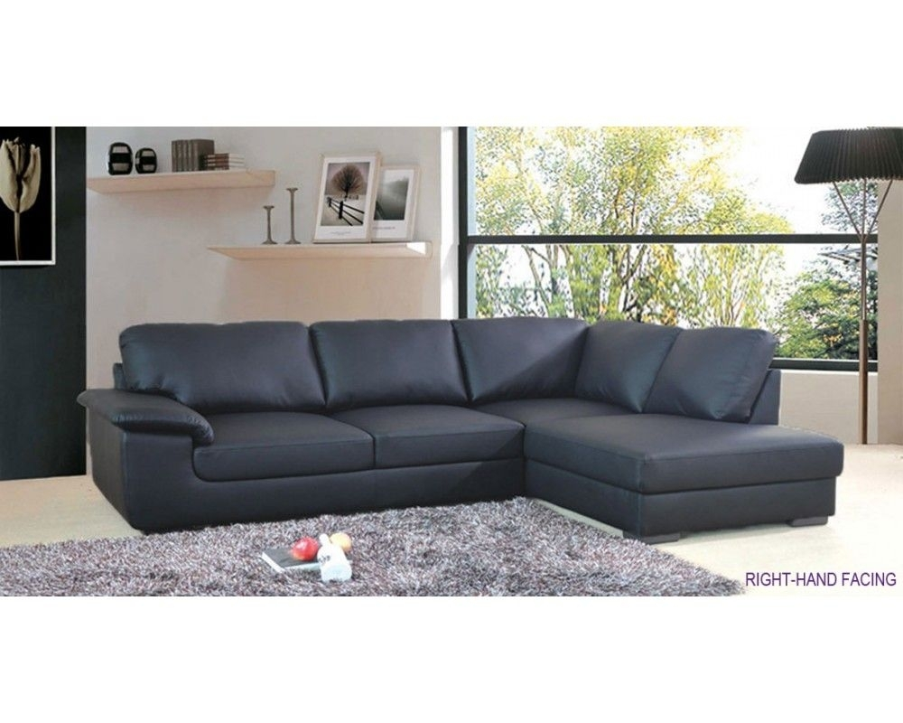Collingwood Black Leather Corner Sofa £500 | Living Room | Pinterest regarding London Optical Reversible Sofa Chaise Sectionals (Image 8 of 30)
