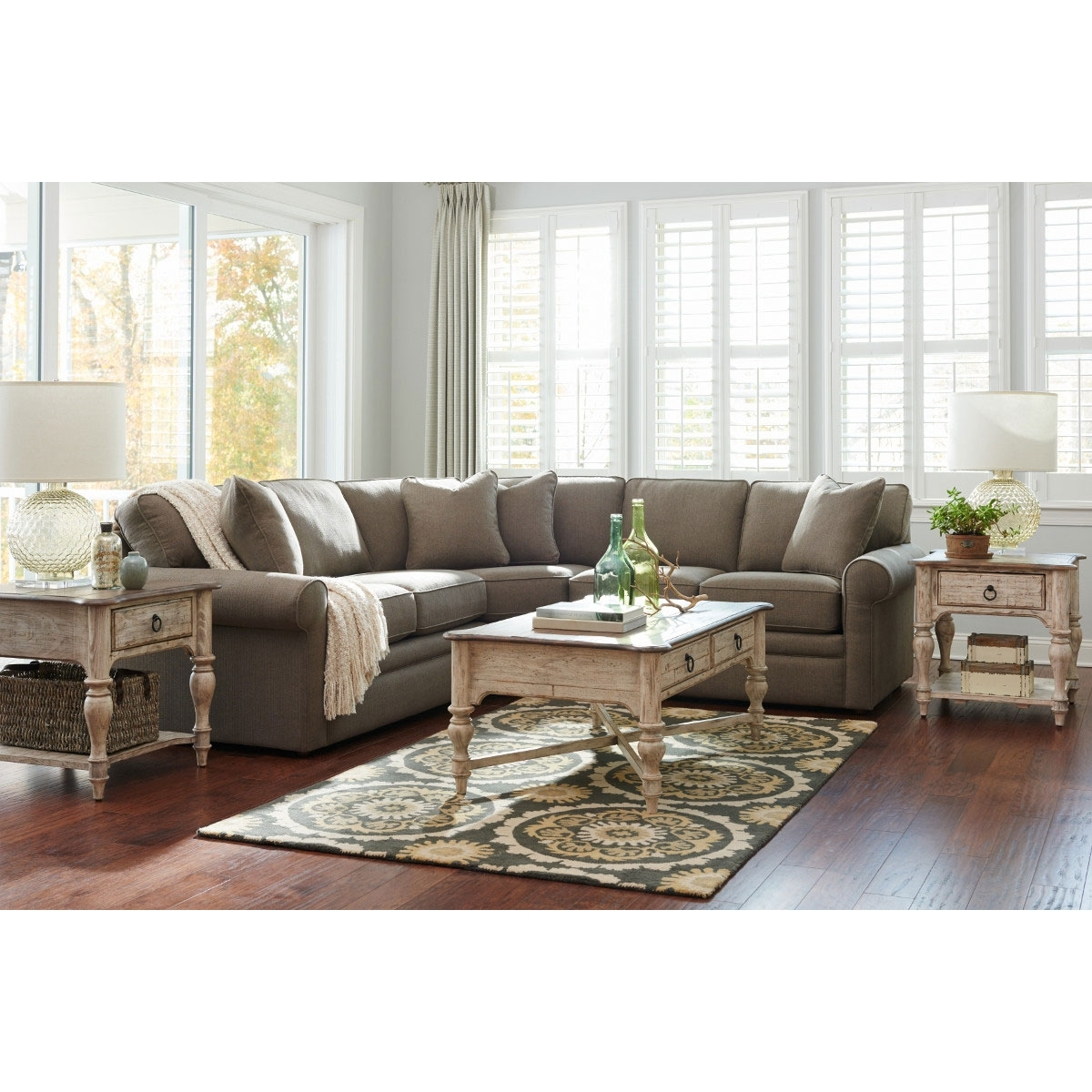 Popular Photo of Collins Sofa Sectionals With Reversible Chaise