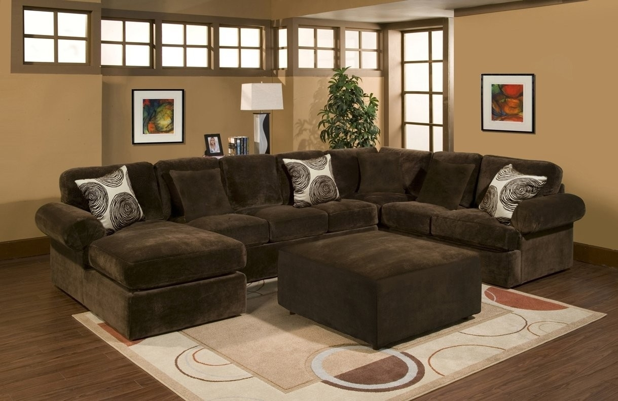 Comfort Industries 3 Pc Bradley Sectional Sofa with Sierra Foam Ii 3 Piece Sectionals (Image 8 of 30)