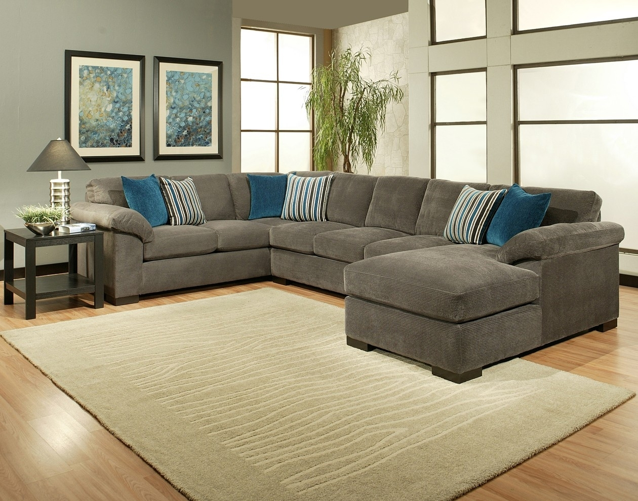 Comfort Industries 3 Pc Fire Fly Sectional Sofa regarding Sierra Foam Ii 3 Piece Sectionals (Image 9 of 30)