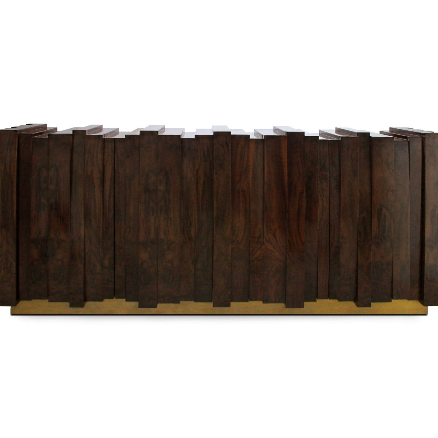 Contemporary Sideboard / Walnut / Wood Veneer / Ash - Nazca - Brabbu intended for Walnut Finish Contempo Sideboards (Image 12 of 30)