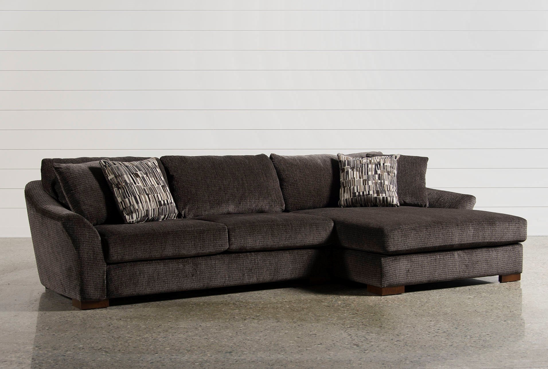 Corbin 3 Piece Sectional W Raf Chaise Ideas Of Living Spaces intended for Aspen 2 Piece Sleeper Sectionals With Laf Chaise (Image 11 of 30)