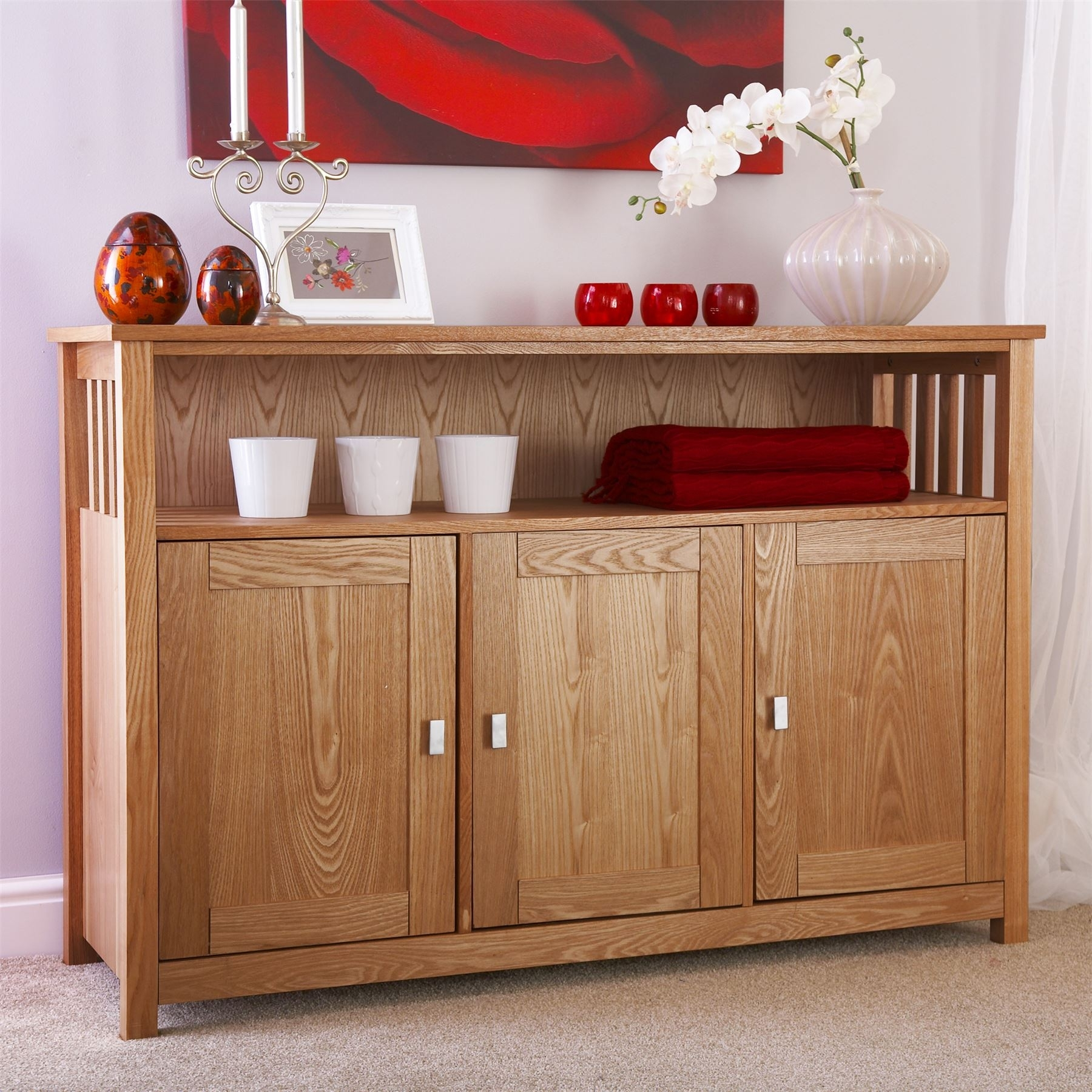 Corner Buffet Hutch With Modern Sideboard And Narrow Table For with Helms Sideboards (Image 11 of 30)