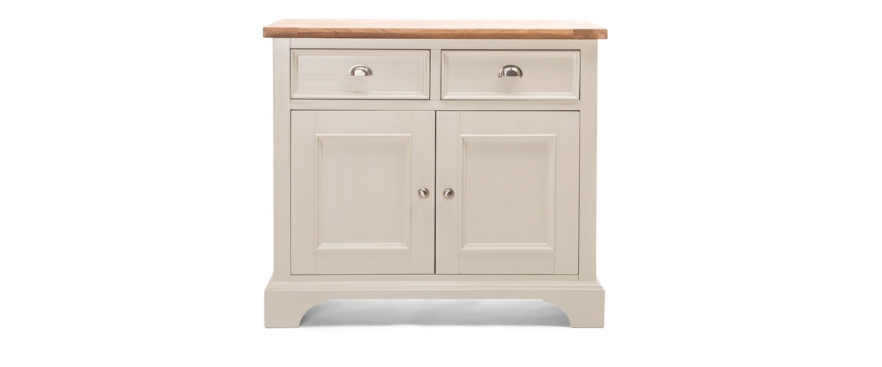 Cornwall Buffet 2 Doors & 2 Drawers | Ez Living Furniture Northern in White Wash 3-Door 3-Drawer Sideboards (Image 6 of 30)