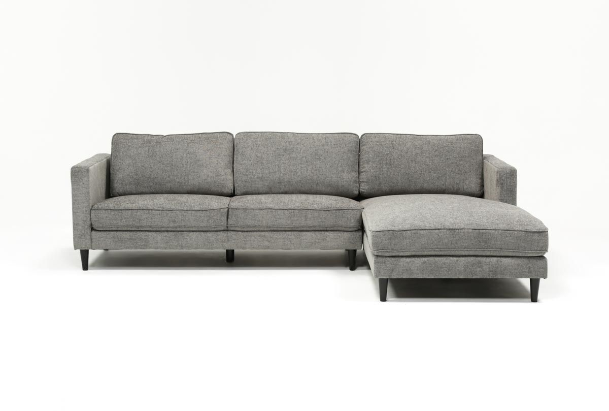 Cosmos Grey 2 Piece Sectional W/raf Chaise | Client Ep | Pinterest throughout Cosmos Grey 2 Piece Sectionals With Laf Chaise (Image 9 of 30)