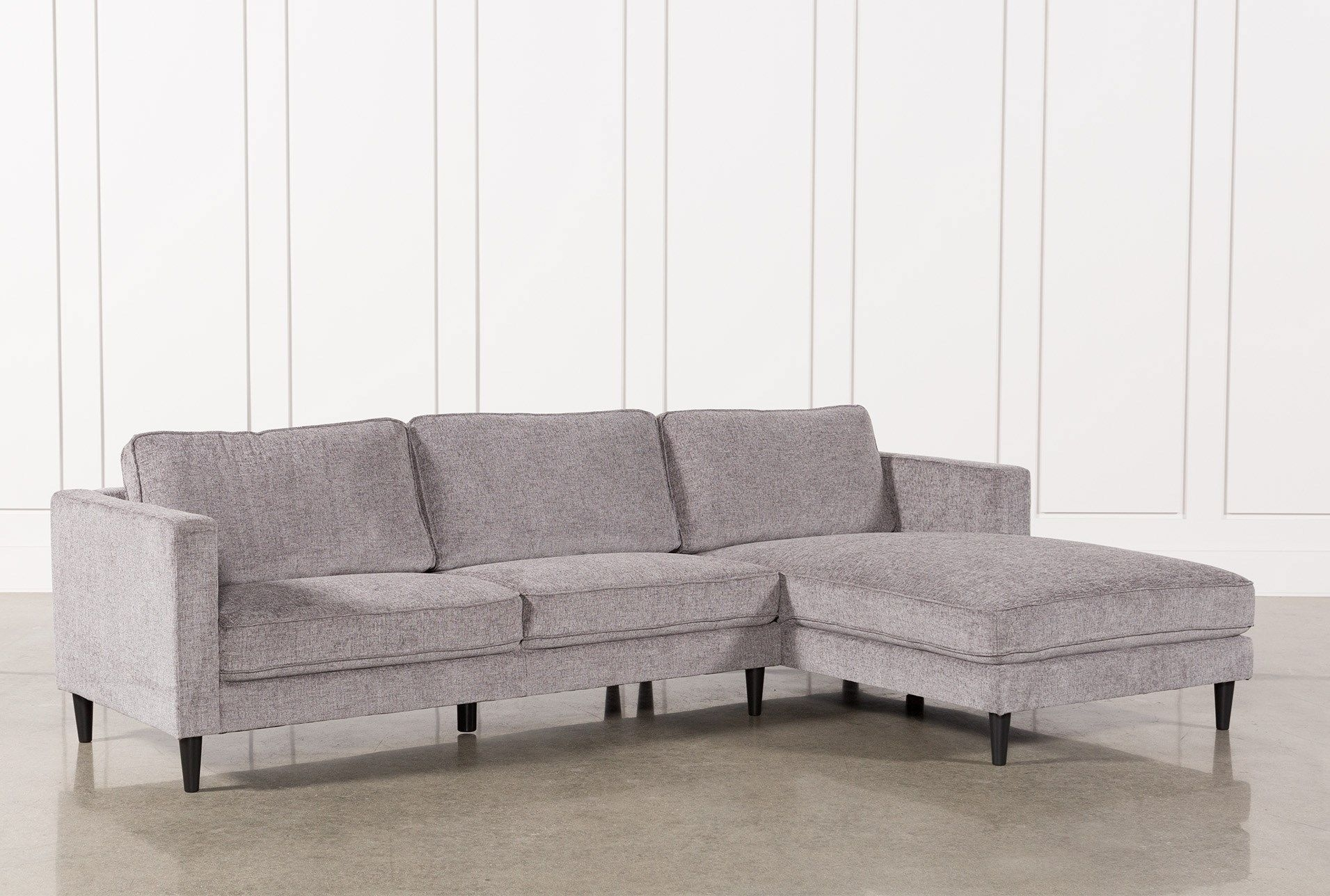 Cosmos Grey 2 Piece Sectional W/raf Chaise | Furniture | Pinterest with regard to Aquarius Light Grey 2 Piece Sectionals With Laf Chaise (Image 14 of 30)