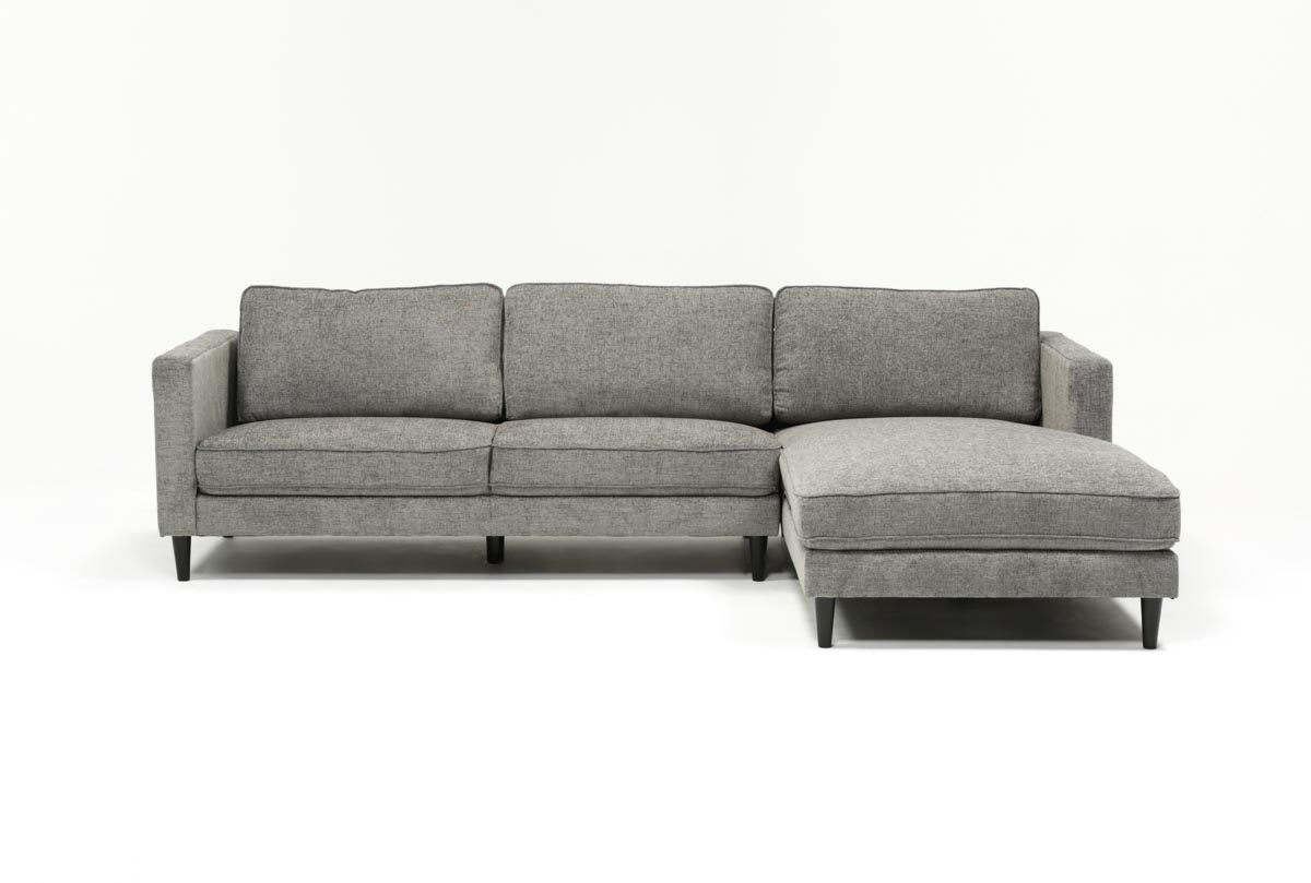 Featured Photo of Cosmos Grey 2 Piece Sectionals With Raf Chaise