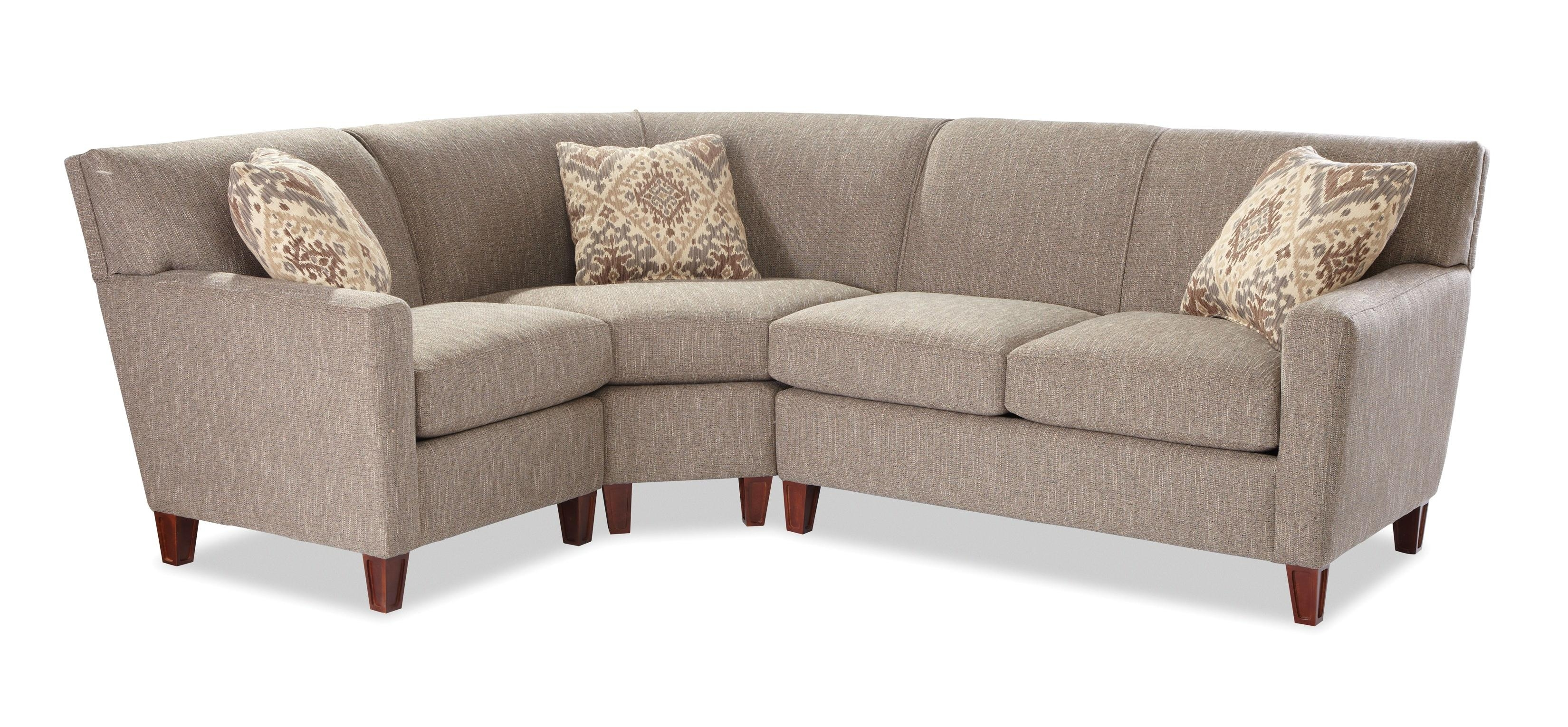 Craftmaster 7864 Three Piece Sectional Sofa With Raf Loveseat throughout Josephine 2 Piece Sectionals With Laf Sofa (Image 10 of 30)