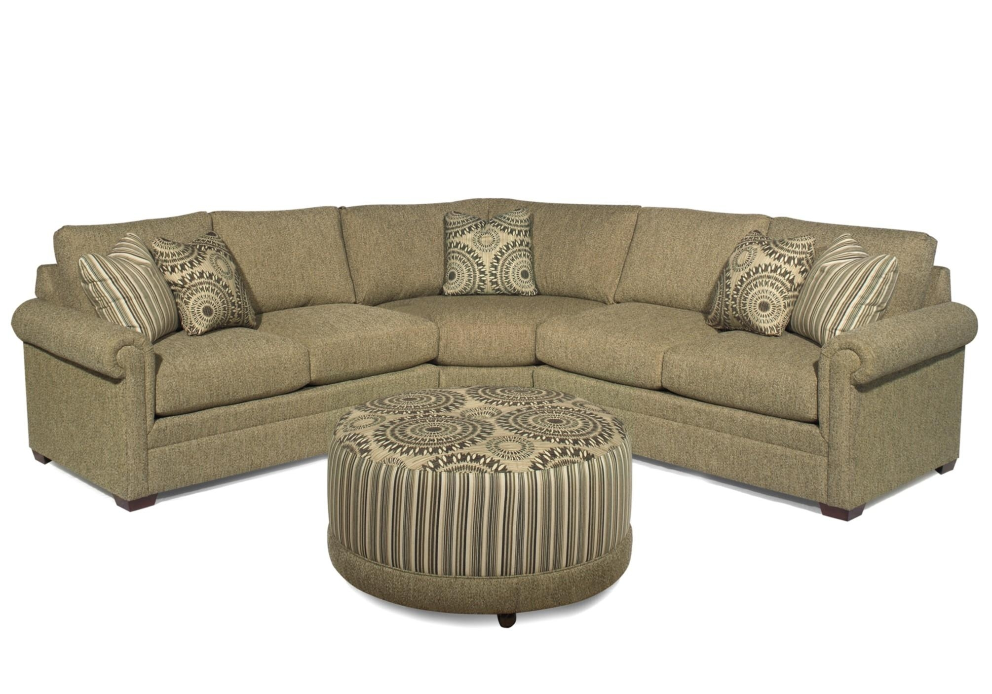 Craftmaster F9 Custom Collection <B>Customizable</b> 3-Piece in Tatum Dark Grey 2 Piece Sectionals With Raf Chaise (Image 2 of 30)