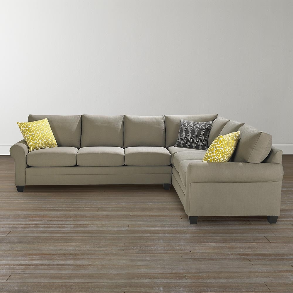 Cu.2 Large L-Shaped Sectional within Sierra Foam Ii 3 Piece Sectionals (Image 11 of 30)