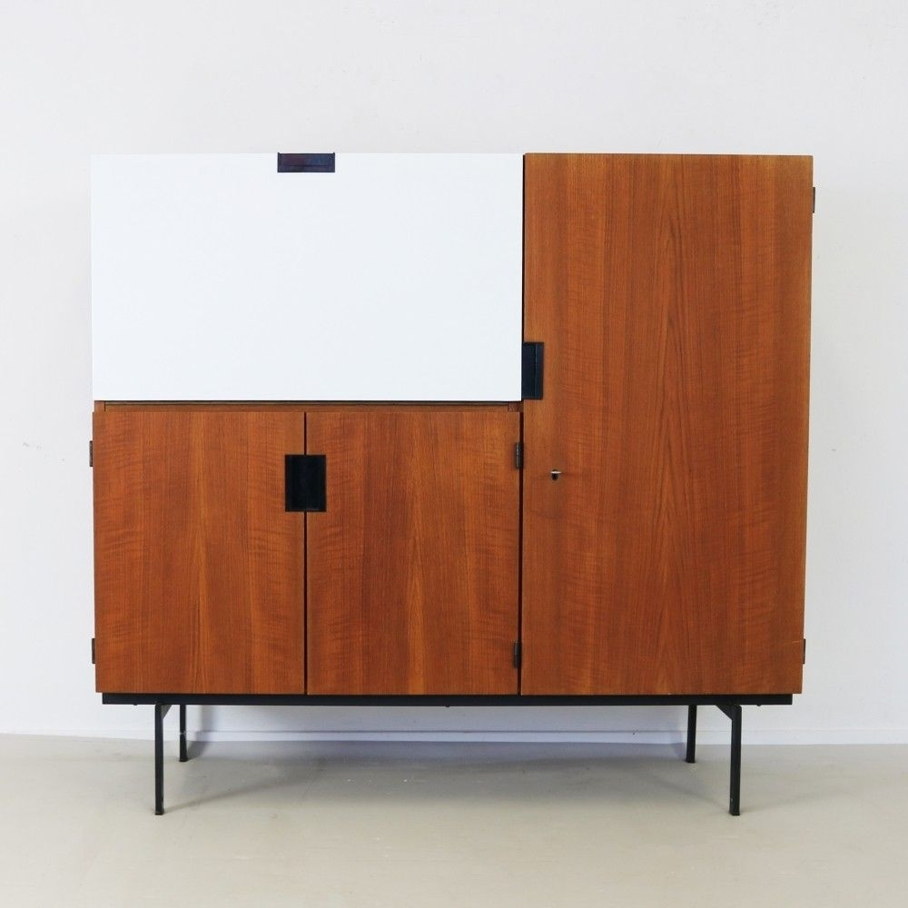 Cu01 Cabinet From The Sixtiescees Braakman For Pastoe | Vintage within Parrish Sideboards (Image 12 of 30)
