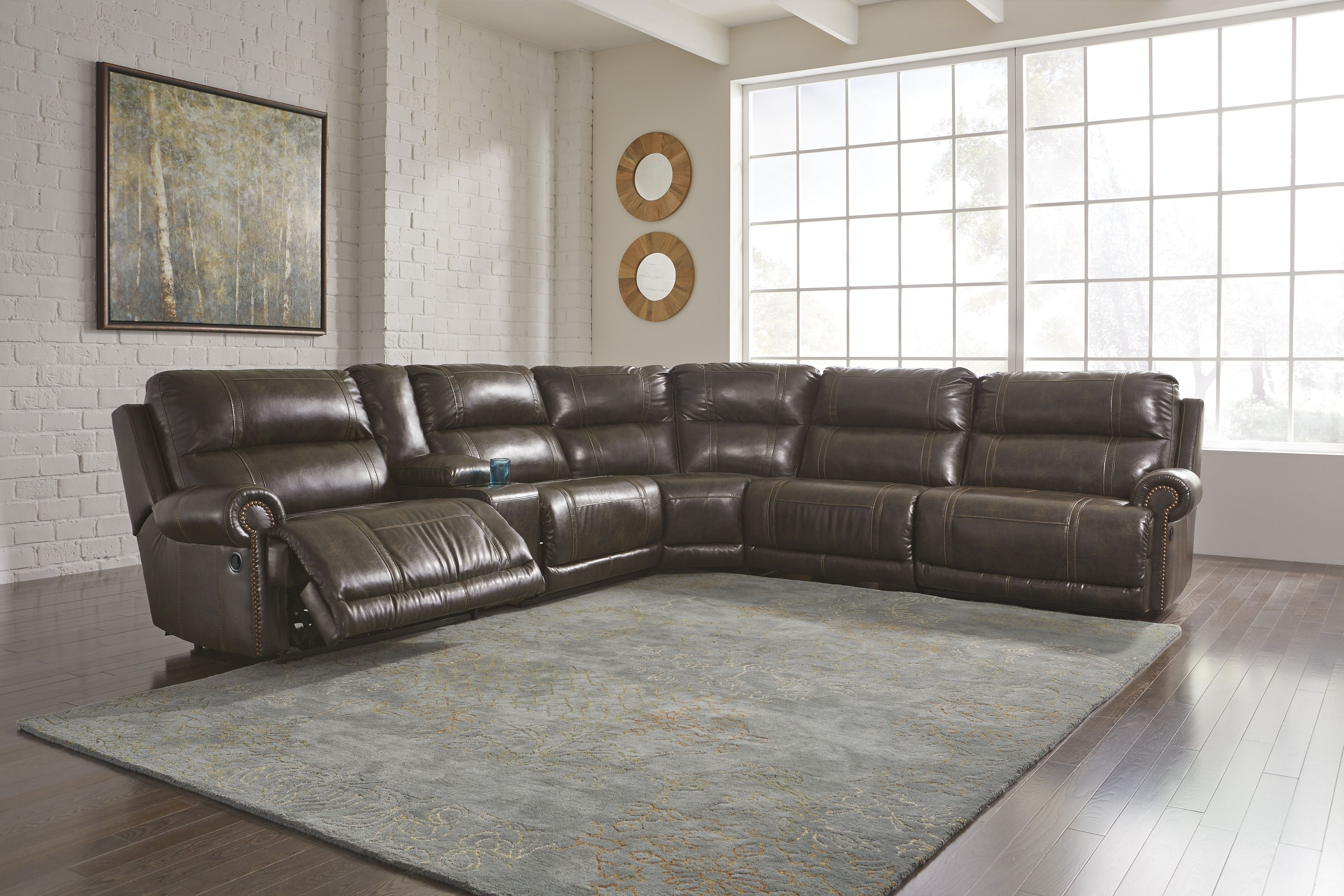 Dak - Antique 7 Piece Sectional | Living Rooms To Love | Pinterest in Blaine 4 Piece Sectionals (Image 10 of 30)