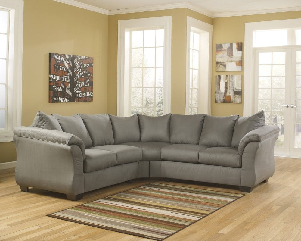 Darcy - Cobblestone 2 Pc. Sectional | 75005/55/56 | Sectionals | St for Lucy Grey 2 Piece Sleeper Sectionals With Raf Chaise (Image 10 of 30)