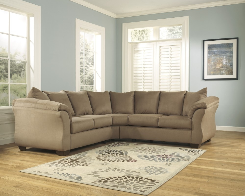 Darcy - Mocha 2 Pc. Sectional | 75002/55/56 | Sectionals | St. Lucie throughout Lucy Grey 2 Piece Sleeper Sectionals With Laf Chaise (Image 10 of 30)