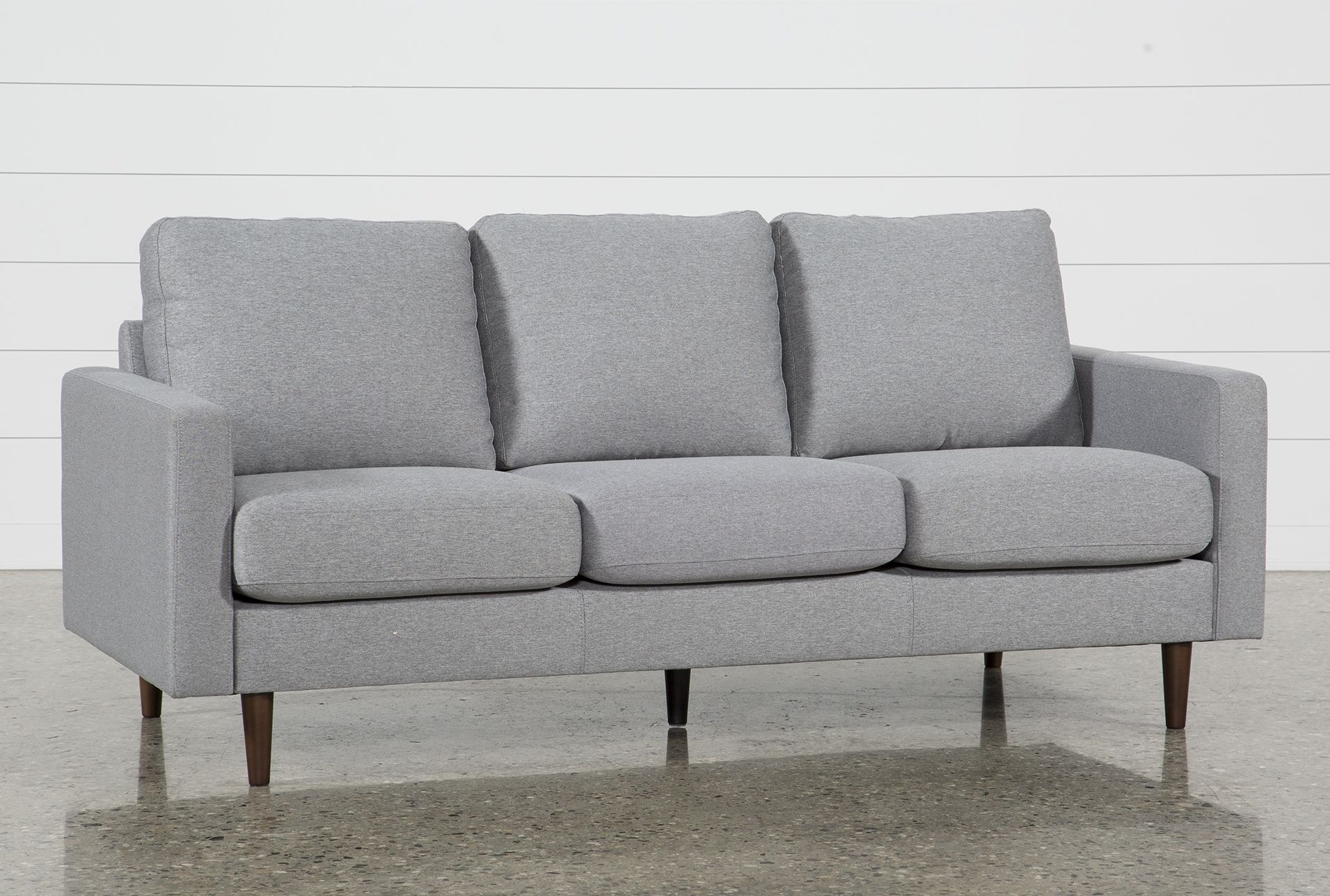 David Grey Sofa | Products intended for Turdur 2 Piece Sectionals With Laf Loveseat (Image 5 of 30)