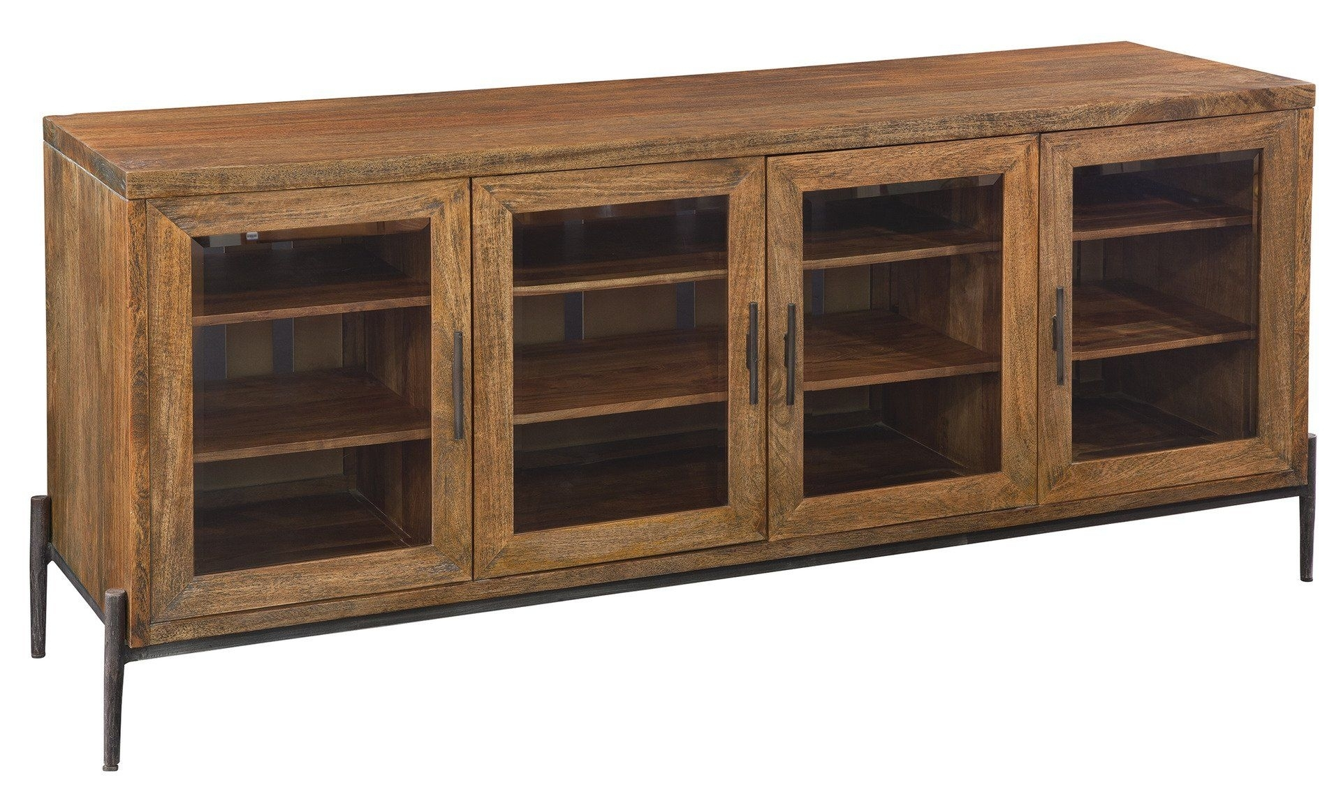 Davidson 74 | Iron And Products within Reclaimed Pine & Iron 72 Inch Sideboards (Image 8 of 30)