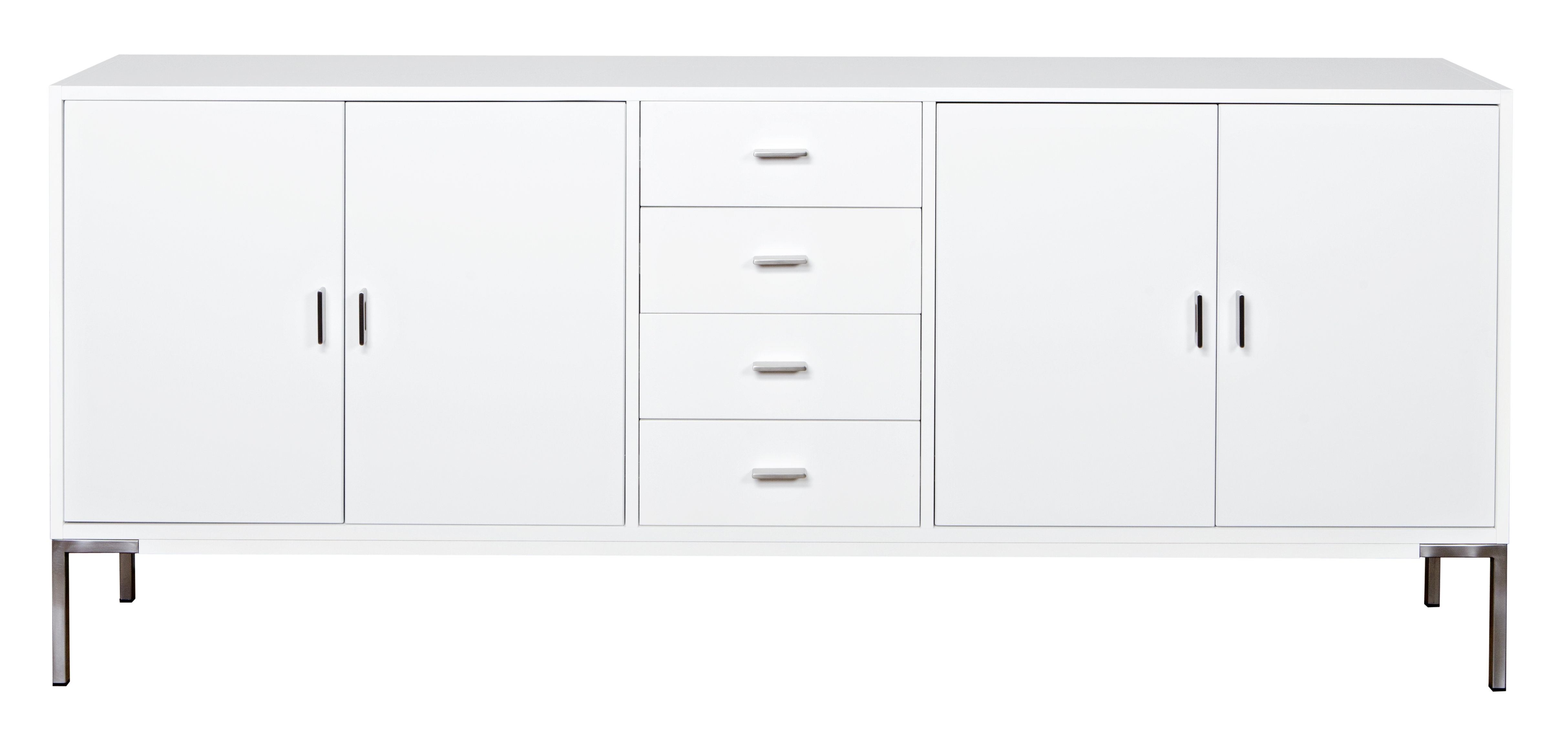 Dcor Design Hinrik 4 Door 4 Drawer Sideboard | Wayfair.co.uk pertaining to Boyce Sideboards (Image 9 of 30)