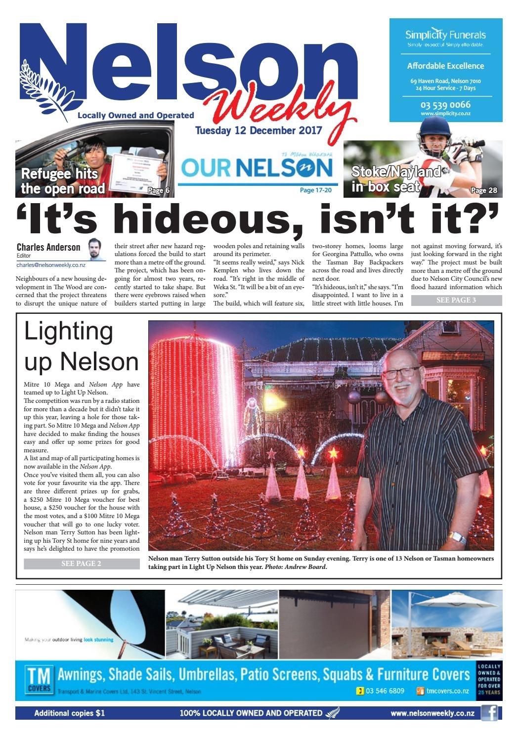December 12 2017 Nelson Weeklynelson Weekly – Issuu Within Marbled Axton Sideboards (View 16 of 26)