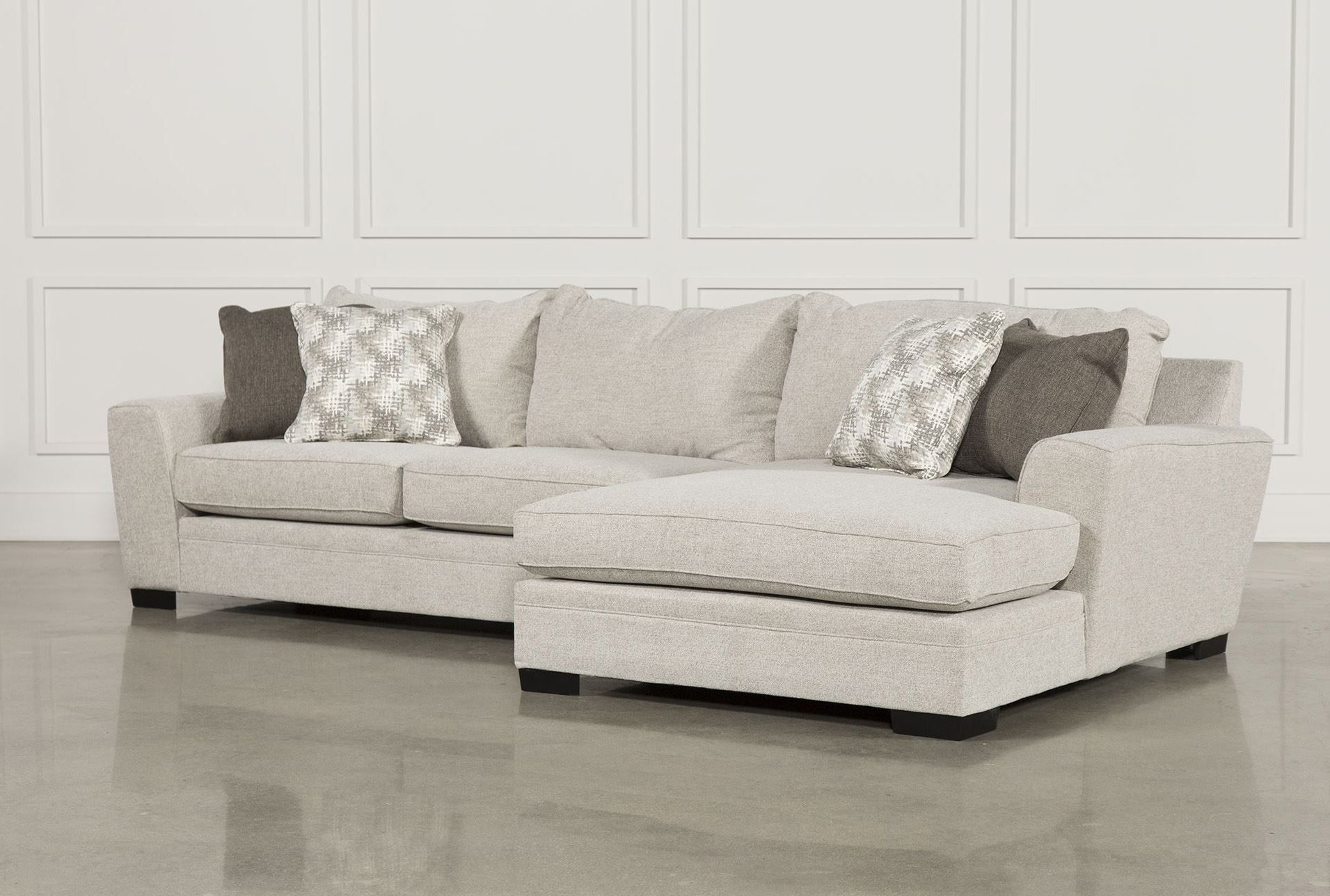 Delano 2 Piece Sectional W/raf Oversized Chaise, Beige, Sofas for Aurora 2 Piece Sectionals (Image 16 of 30)
