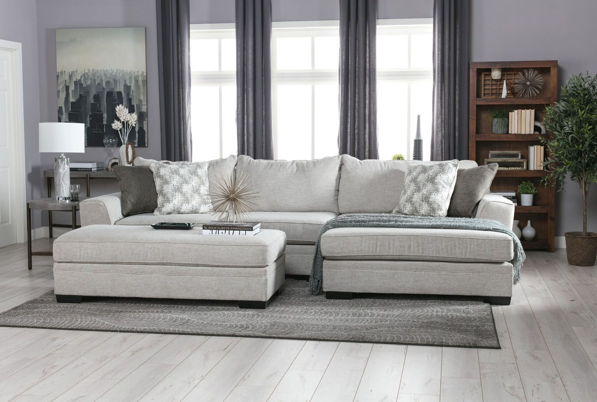 Delano 2 Piece Sectional W/raf Oversized Chaise | Living Room Ideas inside Delano 2 Piece Sectionals With Raf Oversized Chaise (Image 15 of 30)
