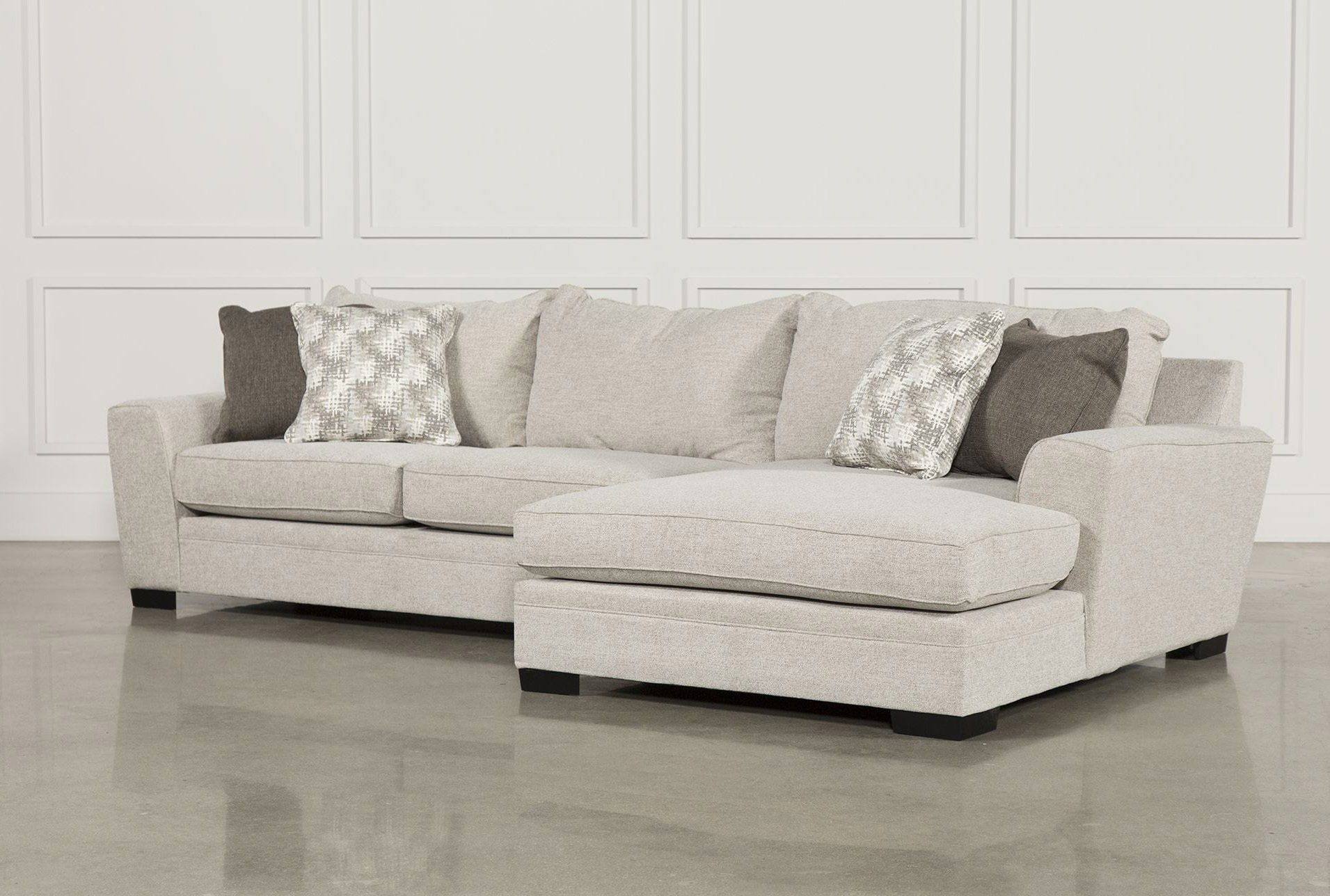 Delano 2 Piece Sectional W/raf Oversized Chaise | Products for Aspen 2 Piece Sleeper Sectionals With Laf Chaise (Image 12 of 30)
