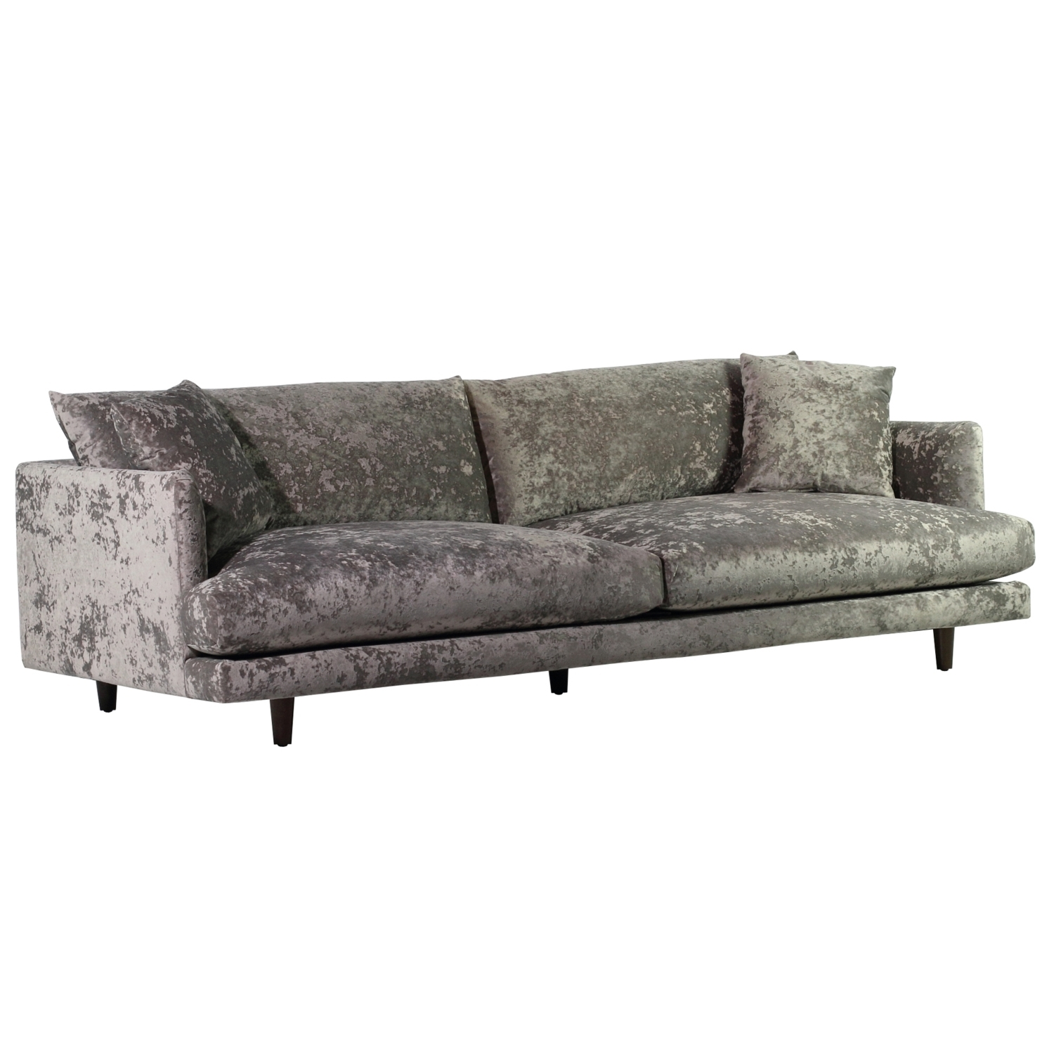 Delano Sofa - Brookline Gray - Spectra Home Furniture for Delano Smoke 3 Piece Sectionals (Image 10 of 30)