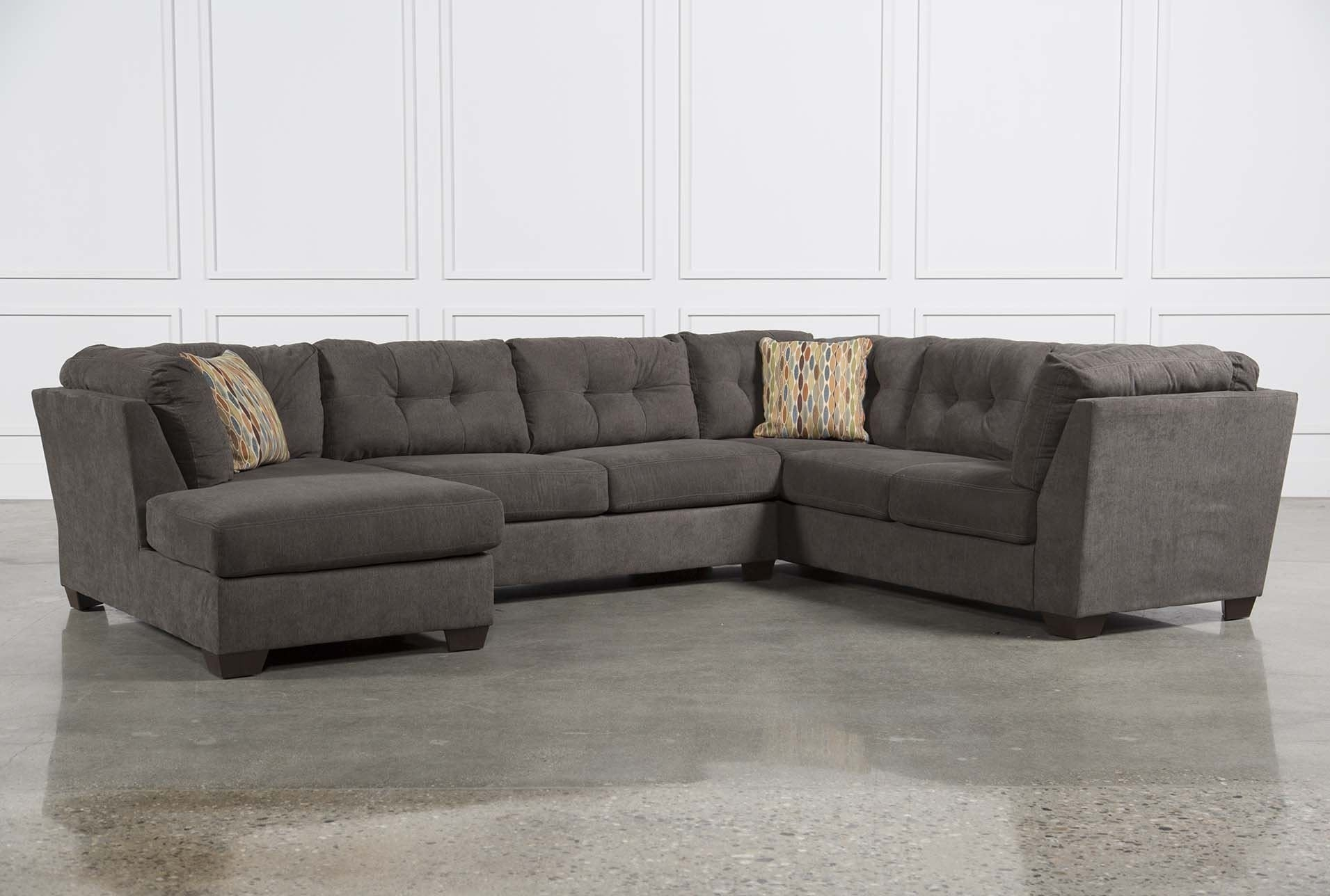 Delta City Steel 3 Piece Sectional W/sleeper | Furniture | Pinterest inside Norfolk Chocolate 3 Piece Sectionals With Raf Chaise (Image 11 of 30)