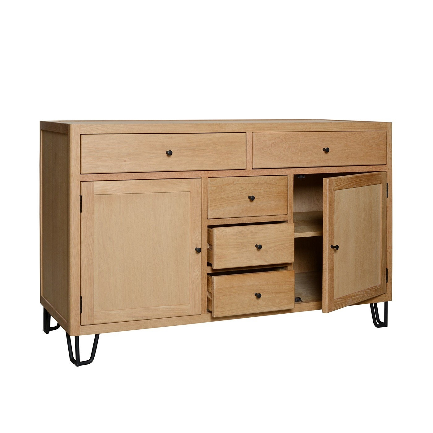 Designer Sideboards | Modern & Contemporary Sideboards | Heal's pertaining to Square Brass 4 Door Sideboards (Image 11 of 30)