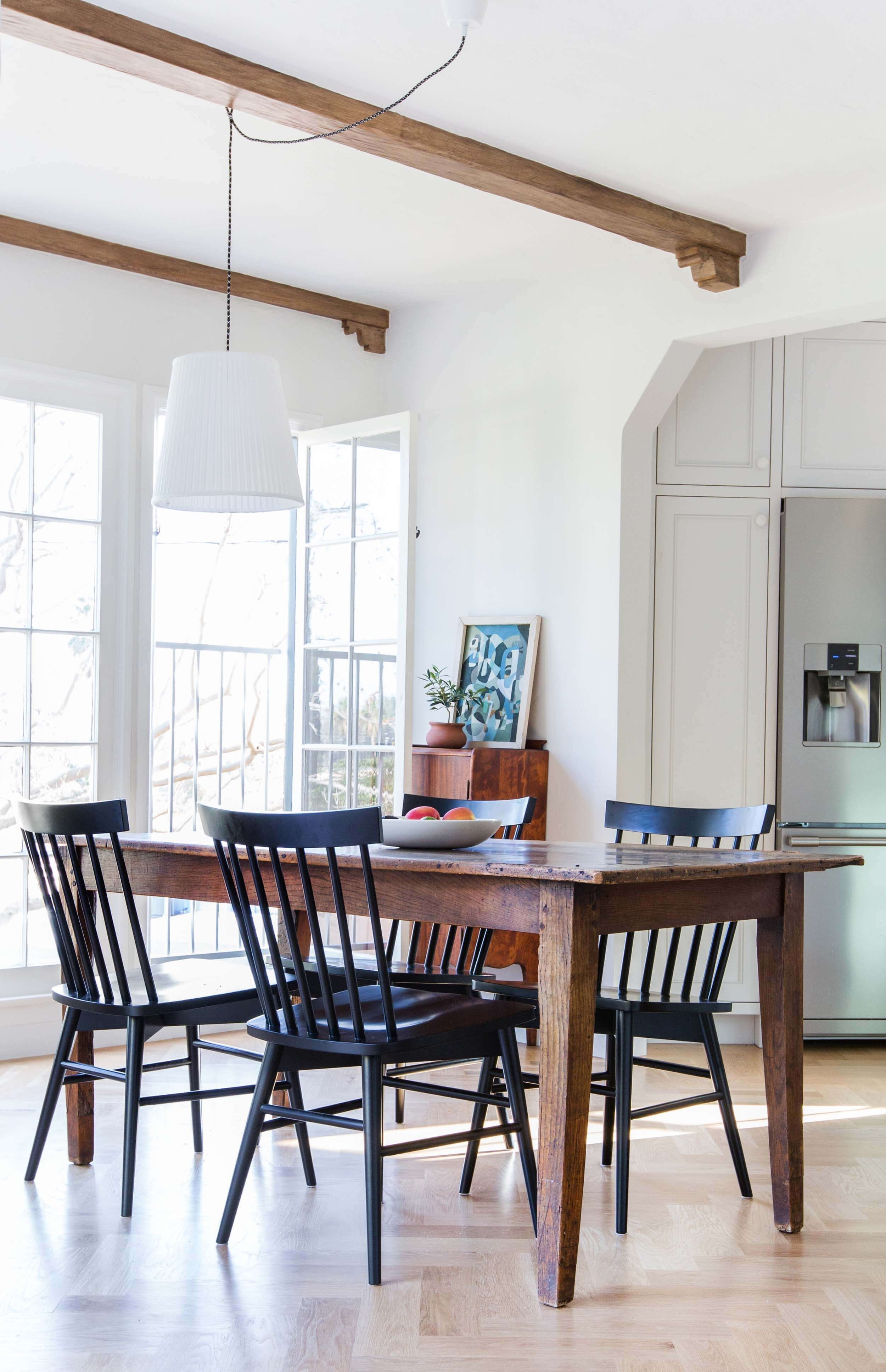 Dining Room Update With A Lot Of Questions - Emily Henderson pertaining to Light Brown Reclaimed Elm & Pine 84 Inch Sideboards (Image 13 of 30)