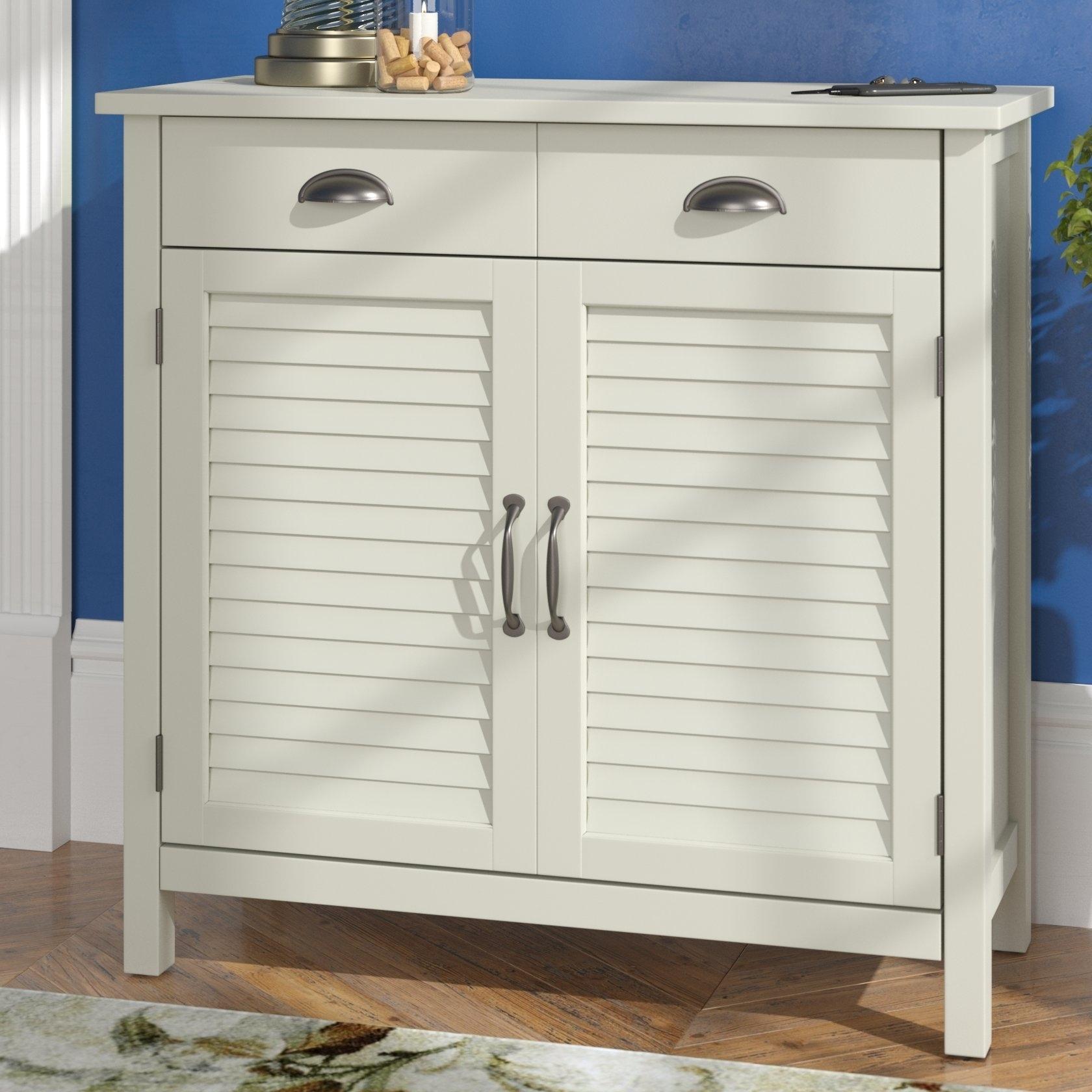 Dodge Wood 2 Door Accent Cabinet & Reviews | Joss & Main throughout Burn Tan Finish 2-Door Sideboards (Image 14 of 30)