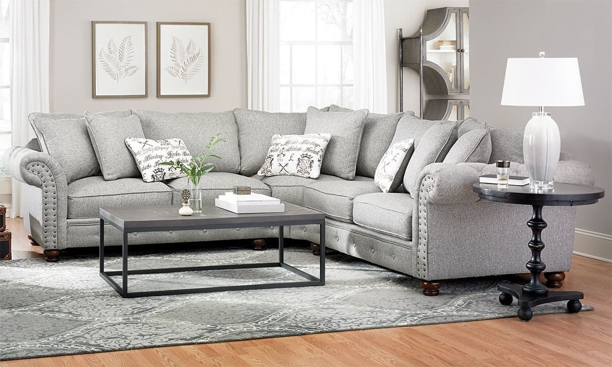 Down Sectional Sierra 3 Piece W Laf Chaise Living Spaces 212468 0 Inside Sierra Down 3 Piece Sectionals With Laf Chaise (View 12 of 30)