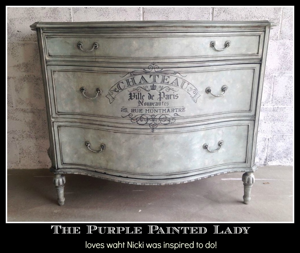 Duck Egg Blue | The Purple Painted Lady in Burnt Tannin 4 Door Sideboards (Image 13 of 30)