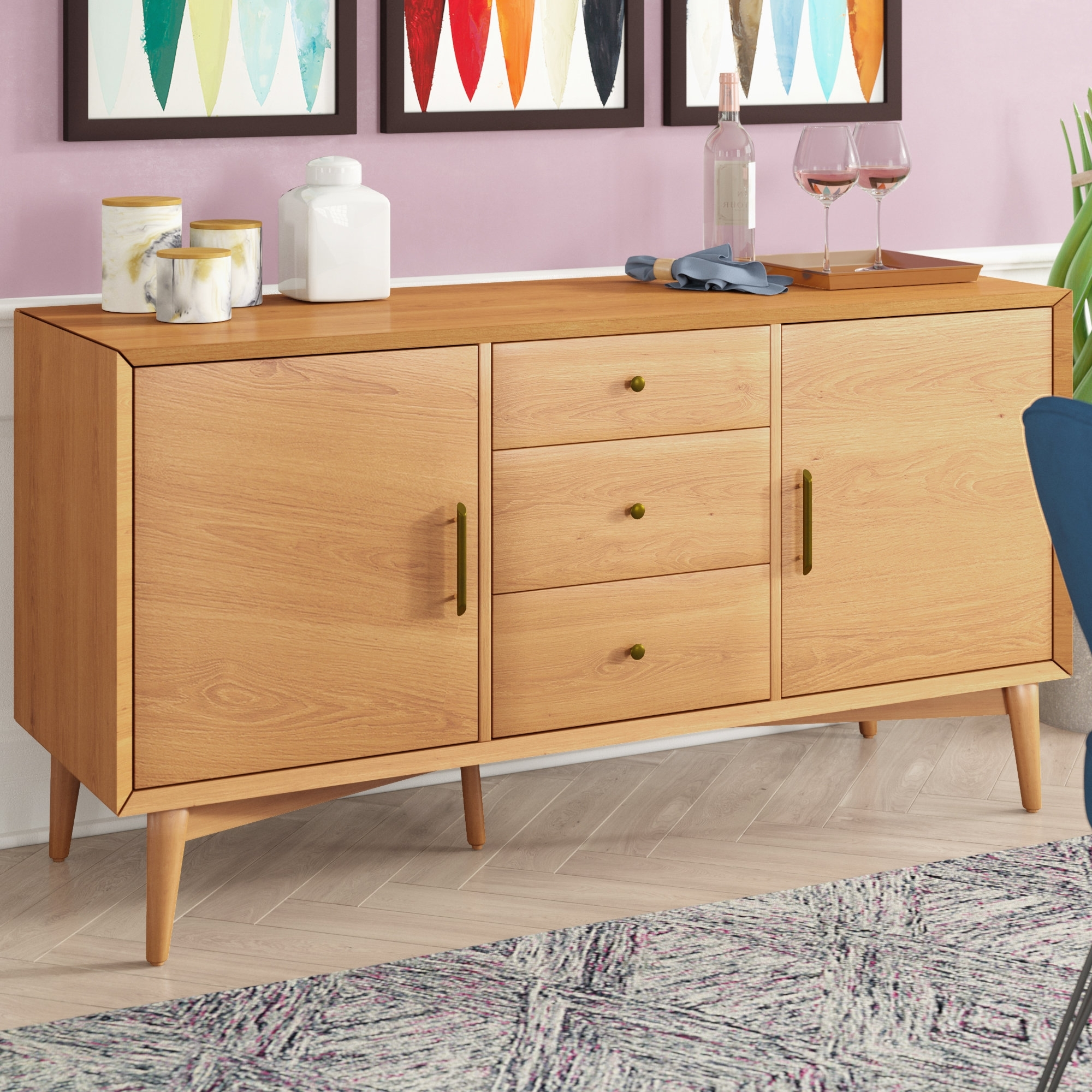 Easmor Sideboard | Allmodern for Boyce Sideboards (Image 10 of 30)