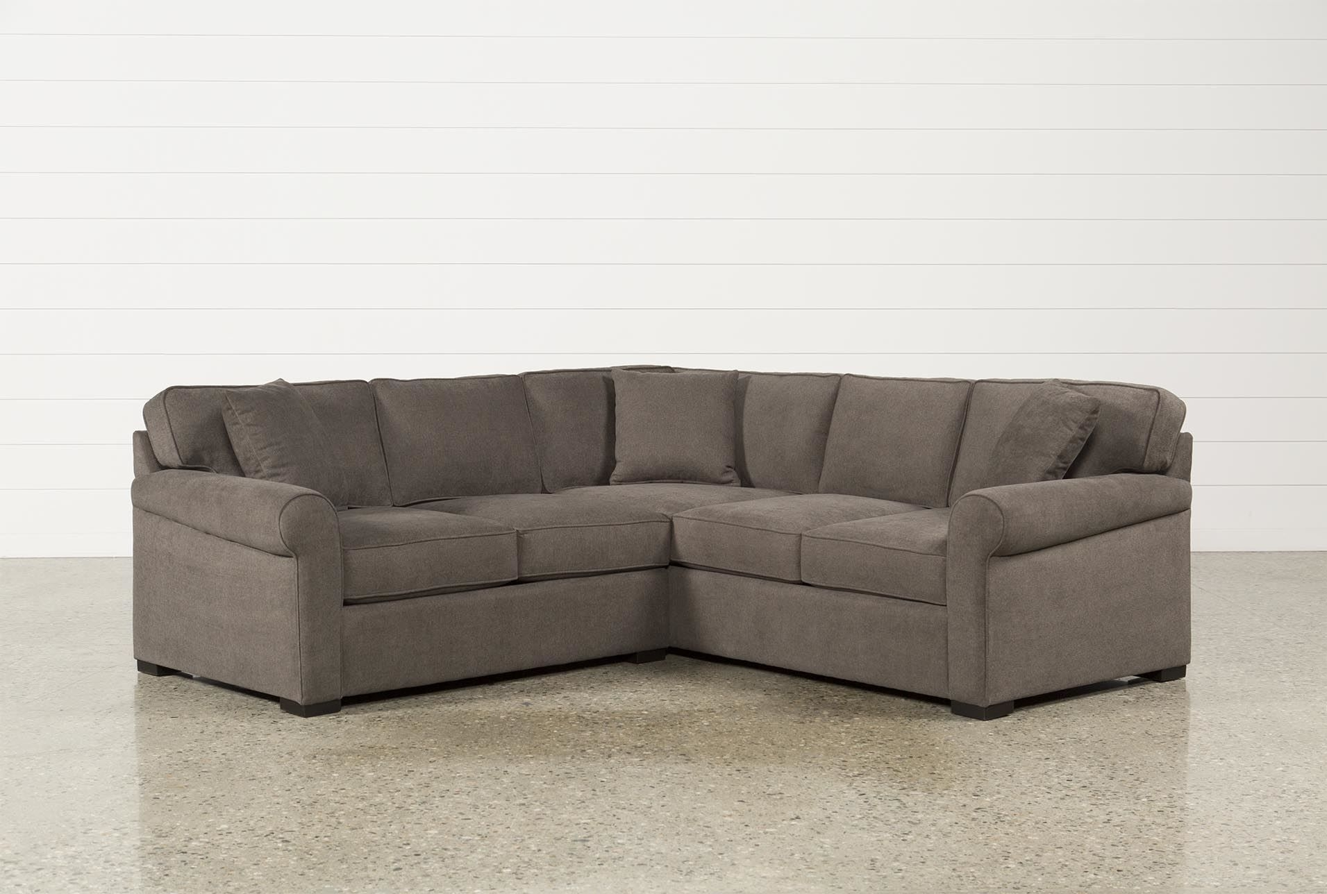 Elm Grande 2 Piece Sectional, Grey, Sofas | Pinterest | Living within Arrowmask 2 Piece Sectionals With Sleeper & Right Facing Chaise (Image 7 of 30)