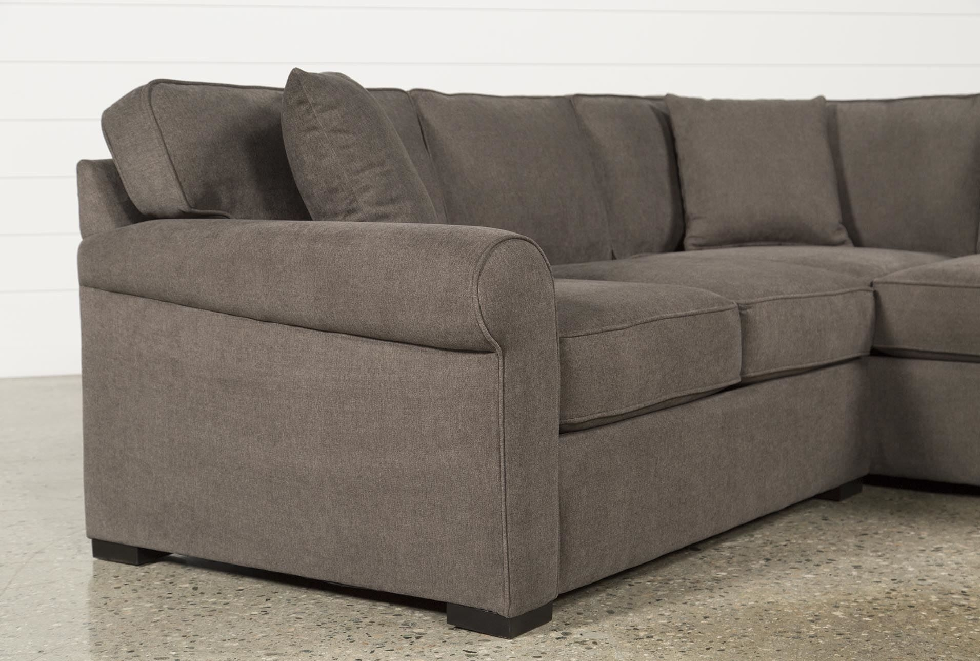 Elm Grande 2 Piece Sectional, Grey, Sofas | Room Inspiration with Elm Grande Ii 2 Piece Sectionals (Image 13 of 30)