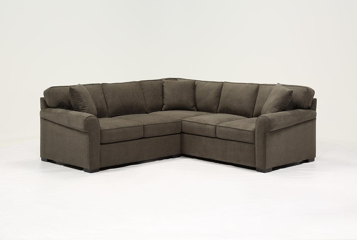 Elm Grande 2 Piece Sectional | Living Spaces With Elm Grande Ii 2 Piece Sectionals (Gallery 1 of 30)