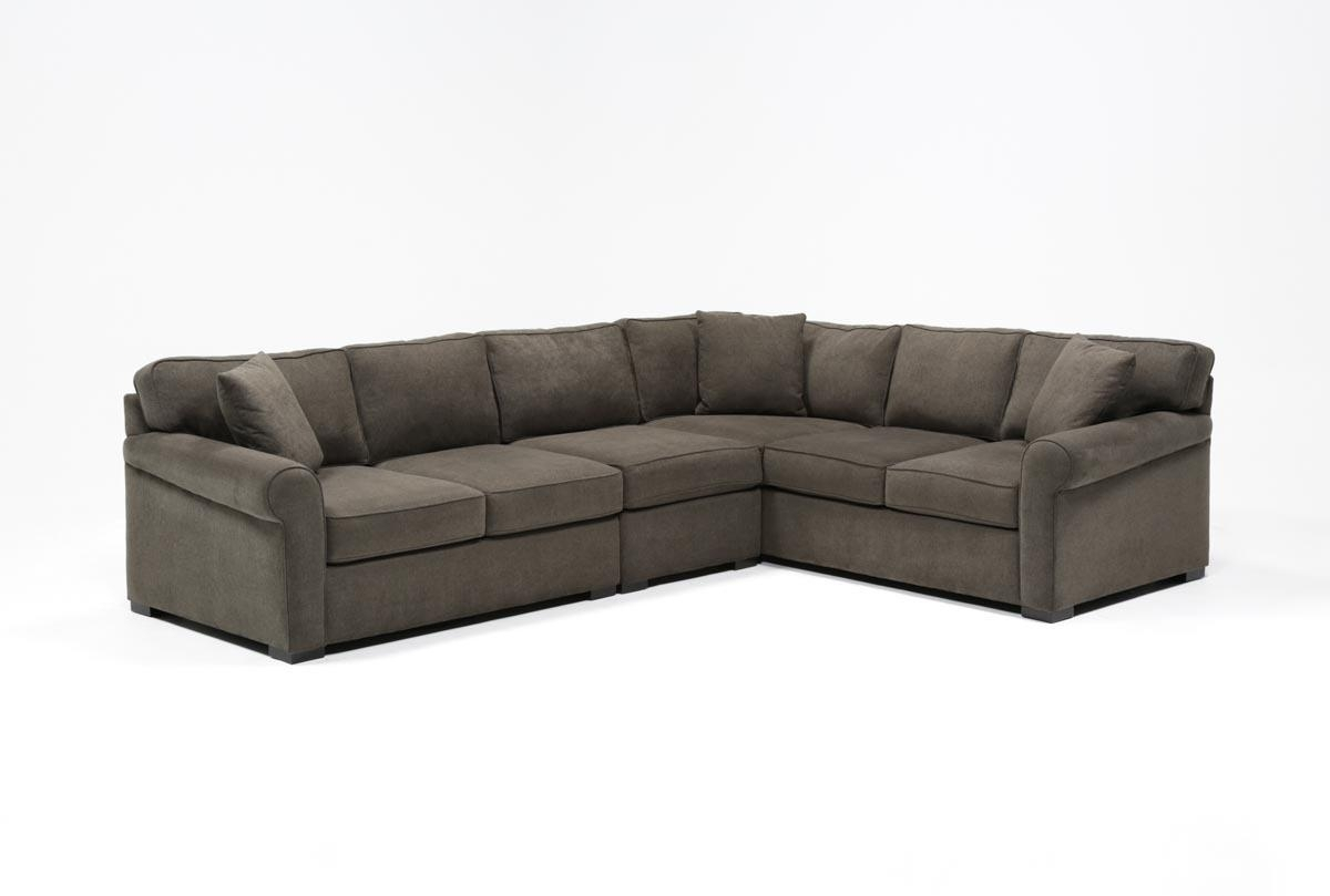 Elm Grande 3 Piece Sectional | Living Spaces With Regard To Elm Grande Ii 2 Piece Sectionals (View 3 of 30)