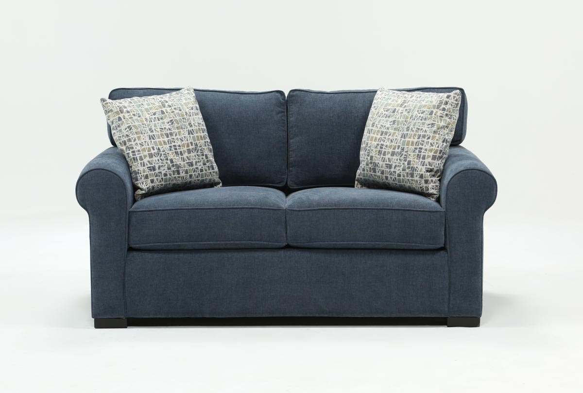 Elm Loveseat | Living Spaces Inside Turdur 2 Piece Sectionals With Laf Loveseat (Photo 8 of 30)