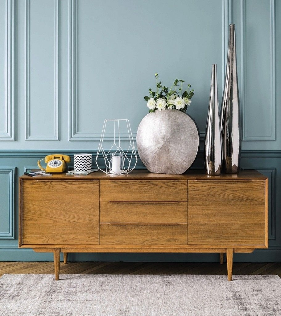 Enfilade Buffet Bois Clair Maison Du Monde – Le Blog Deco De Mlc With Regard To Reclaimed Elm 91 Inch Sideboards (Gallery 18 of 30)