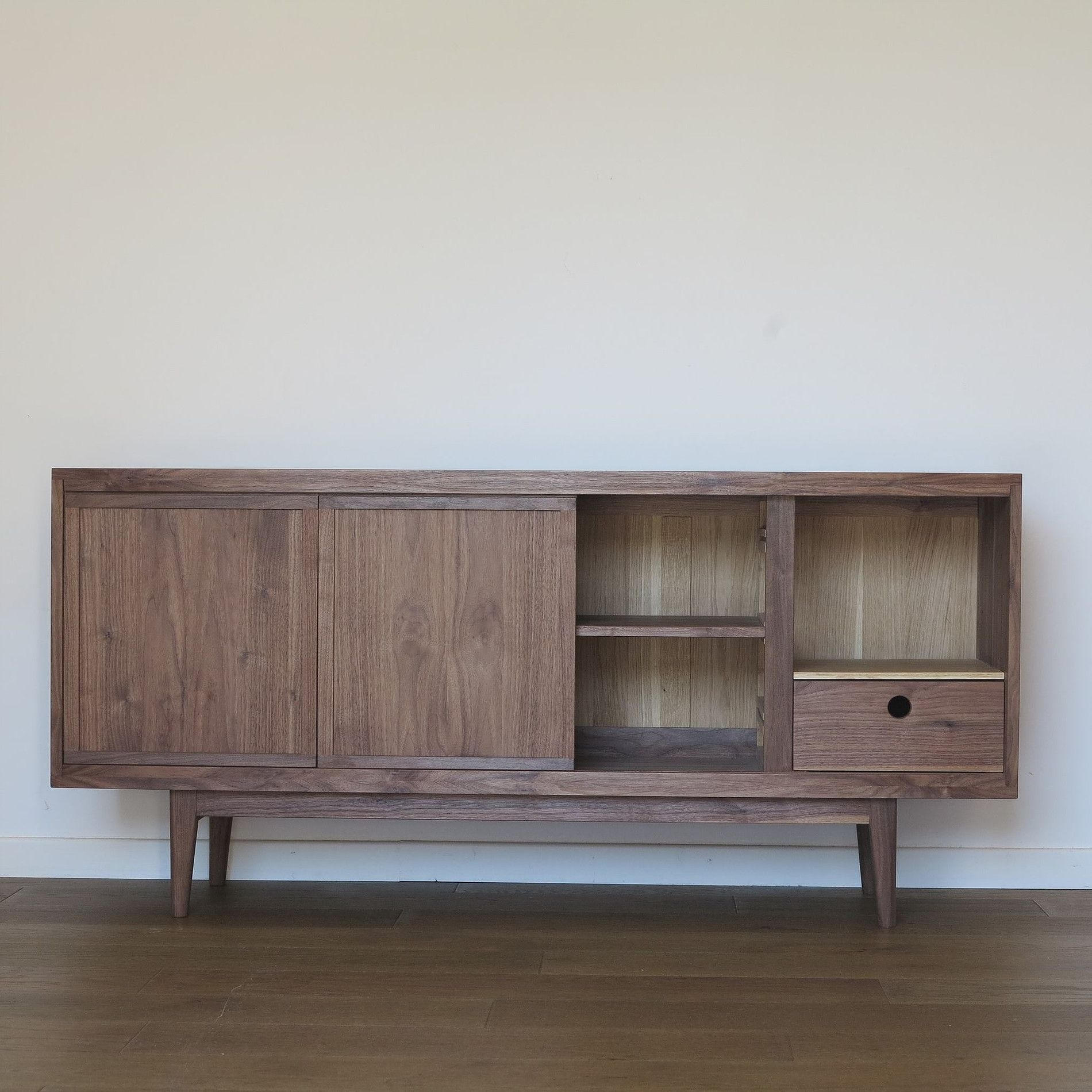 Enfilade Noyer Américain | Furniture | Pinterest | Dan Pertaining To Jigsaw Refinement Sideboards (Gallery 7 of 30)