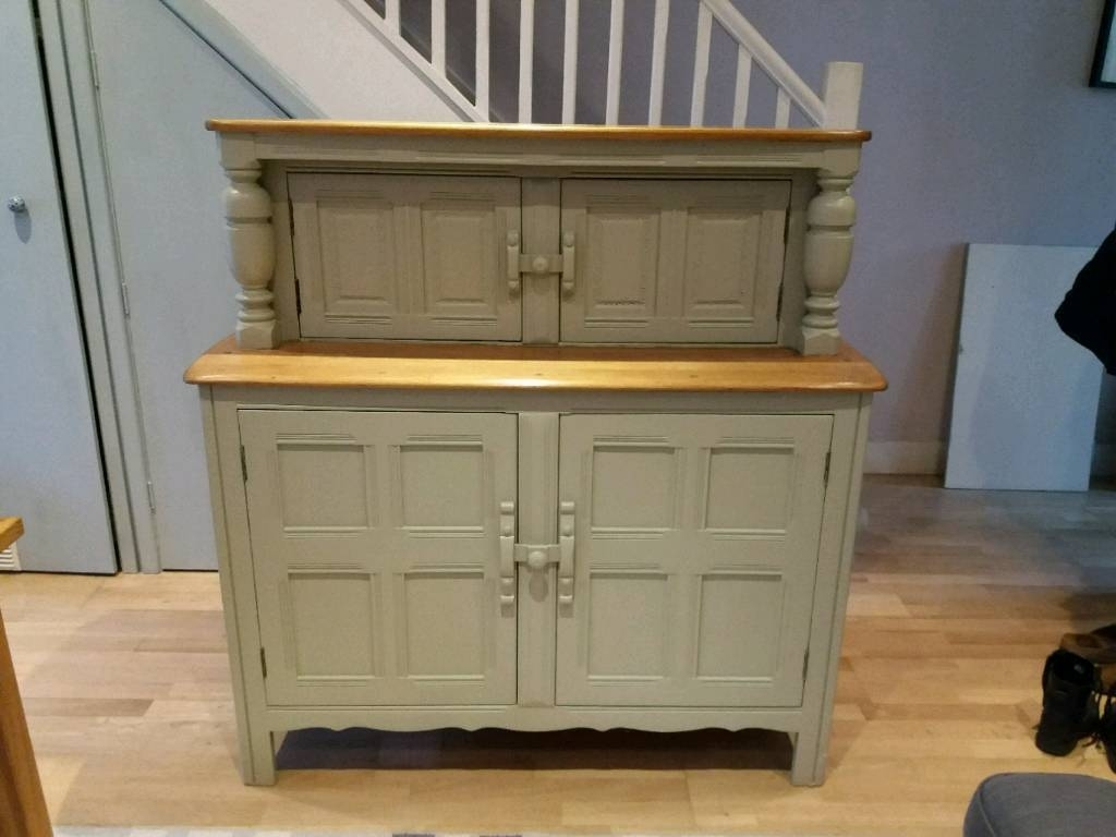 Ercol Dresser In Farrow And Ball French Grey | In Norwood, London For Norwood Sideboards (Photo 24 of 30)