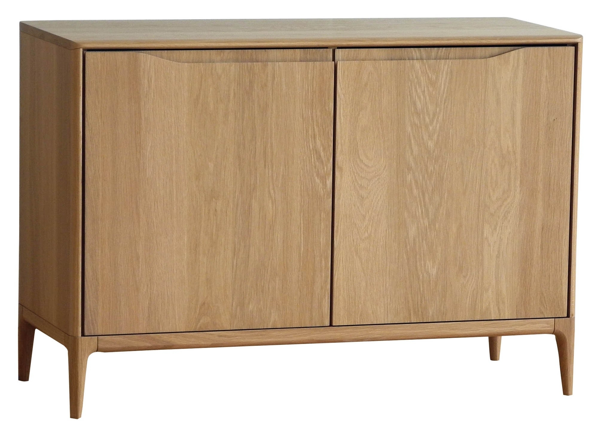 Ercol Romana 2647 2 Door Sideboard | Tr Hayes   Furniture Store, Bath With Natural Oak Wood 2 Door Sideboards (Photo 17 of 30)