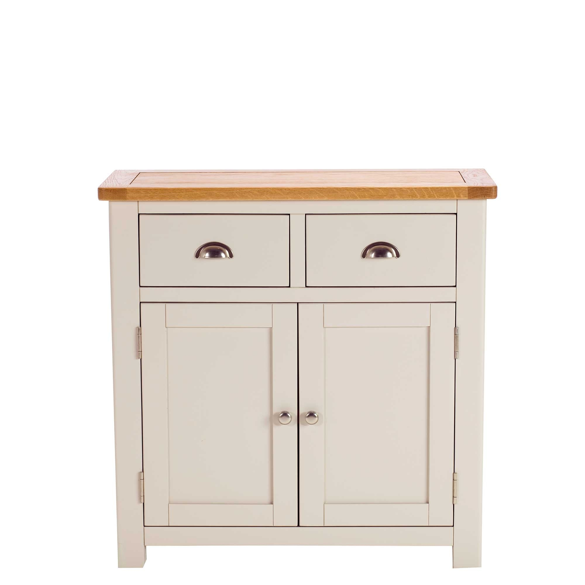 Eskdale 2 Door 2 Drawer Sideboard, Linen | Sideboards | Dining Room Inside 2 Drawer Sideboards (Photo 10 of 30)
