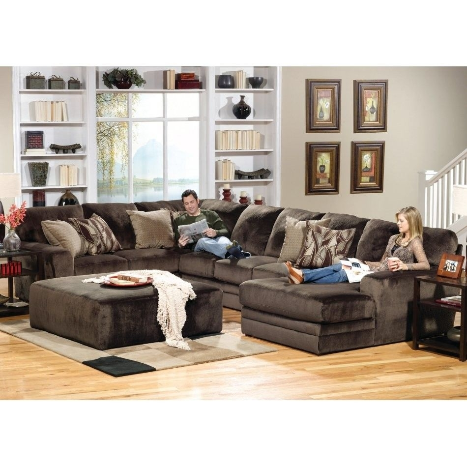 Everest Living Room Sectional Piece | Right Side Facing Chaise intended for Norfolk Chocolate 6 Piece Sectionals With Laf Chaise (Image 13 of 30)