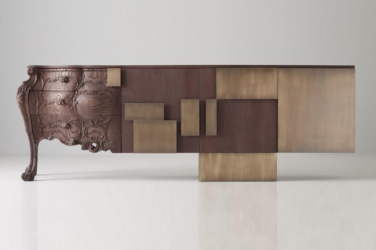 Evolution Sideboard - within Black Burnt Oak Sideboards (Image 8 of 30)