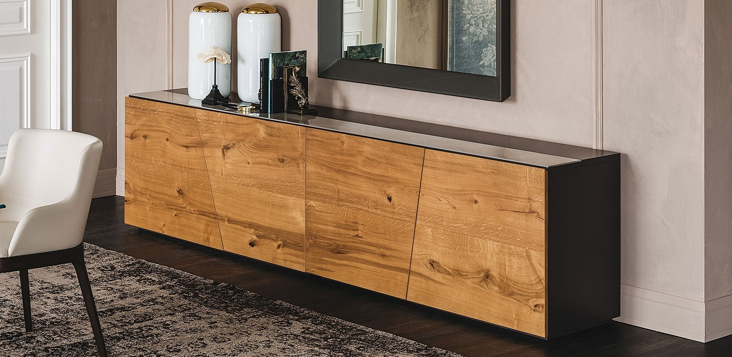 Explorer | Sideboards | Cattelan Italia Within Burnt Oak Wood Sideboards (Photo 16 of 30)