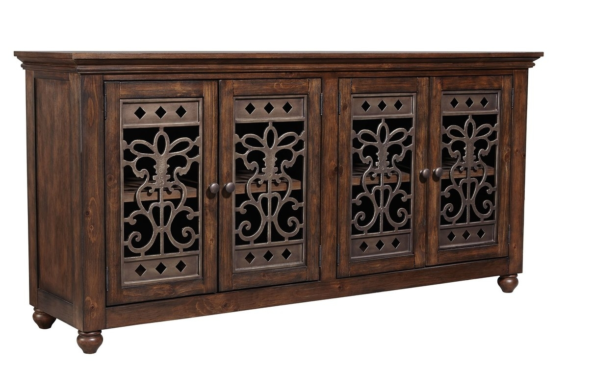 Extra Long Sideboard | Wayfair intended for Brown Wood 72 Inch Sideboards (Image 13 of 30)